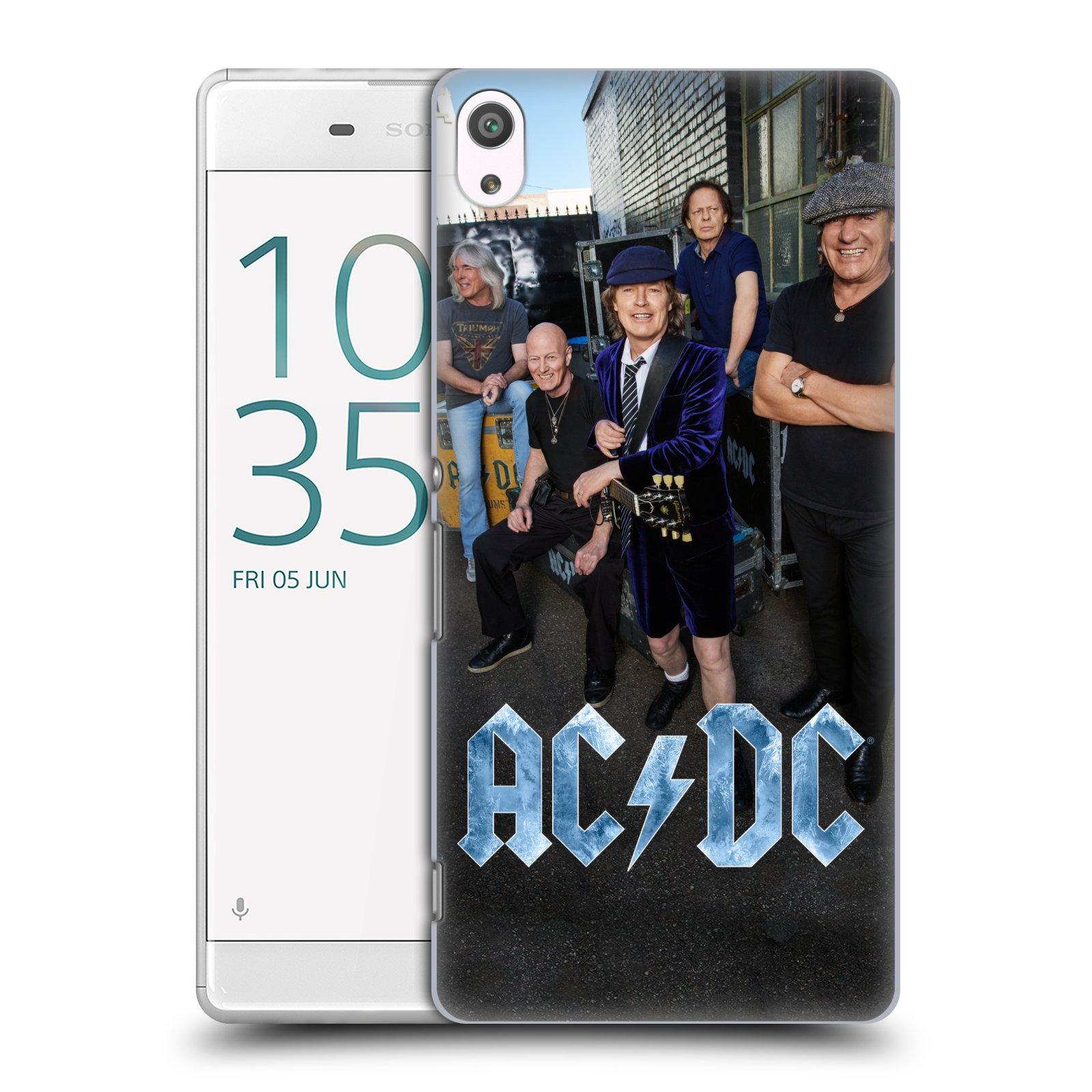 Plastové pouzdro na mobil Sony Xperia XA Ultra HEAD CASE AC/DC Skupina barevně