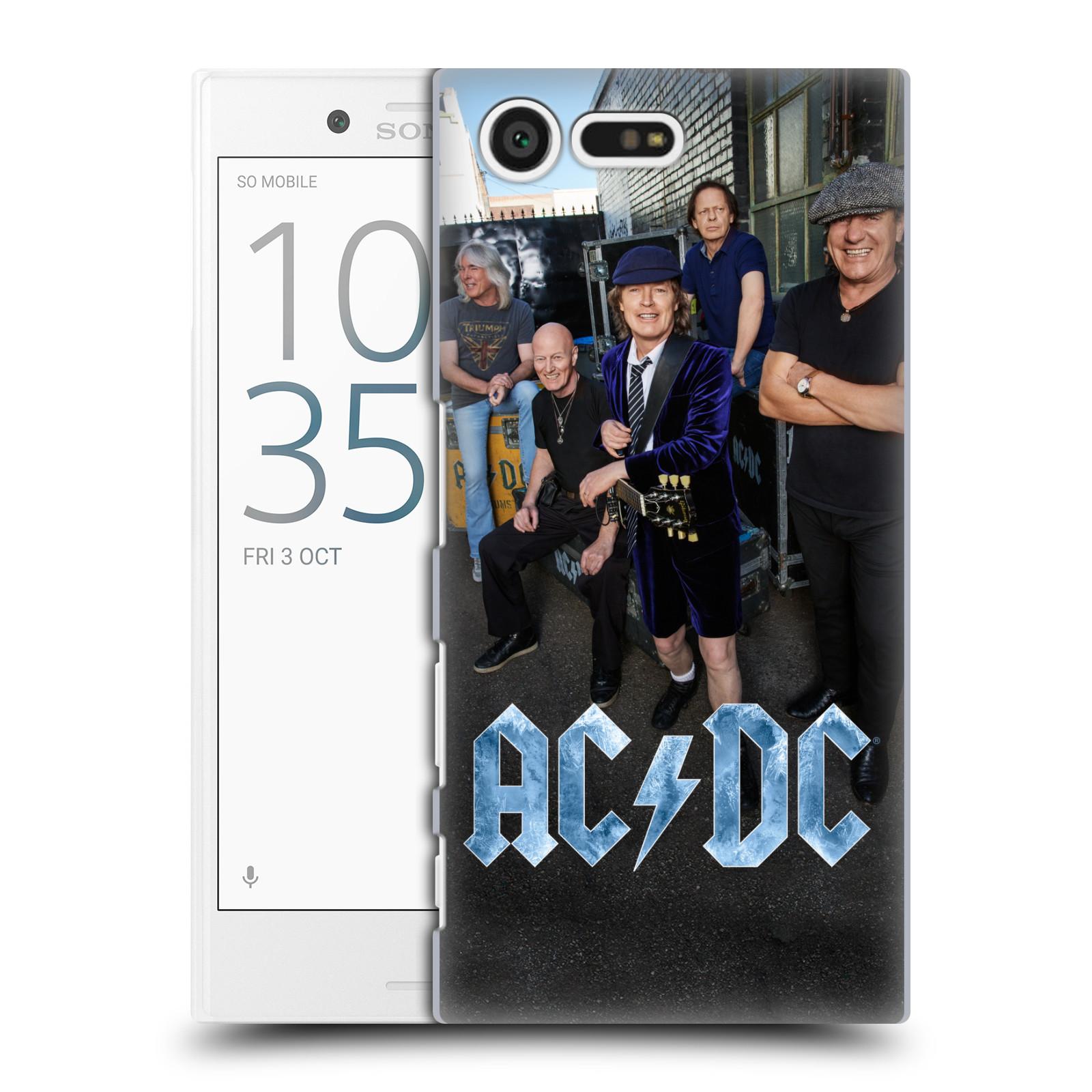 Plastové pouzdro na mobil Sony Xperia X Compact HEAD CASE AC/DC Skupina barevně