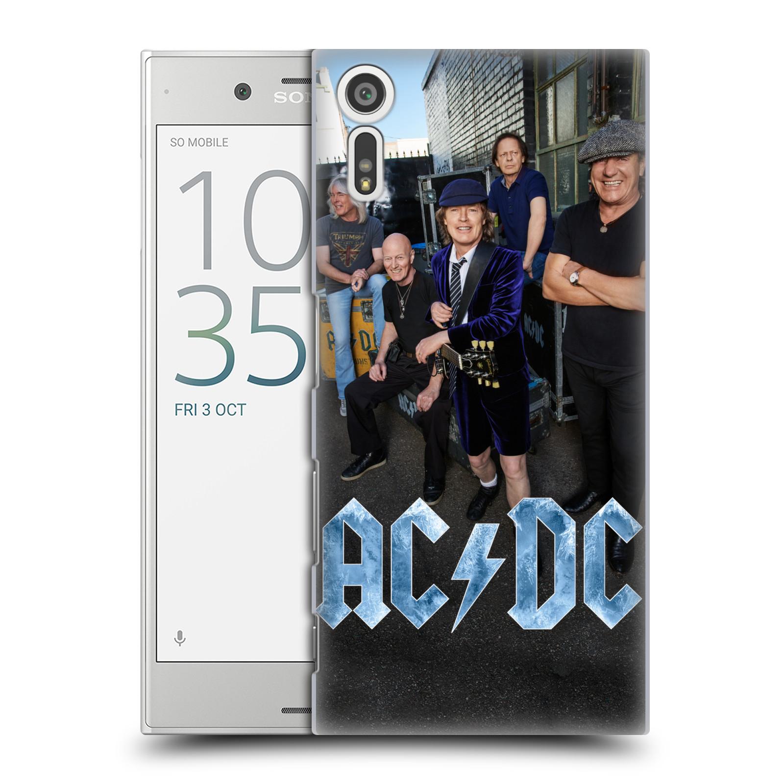 Plastové pouzdro na mobil Sony Xperia XZ - Head Case AC/DC Skupina barevně
