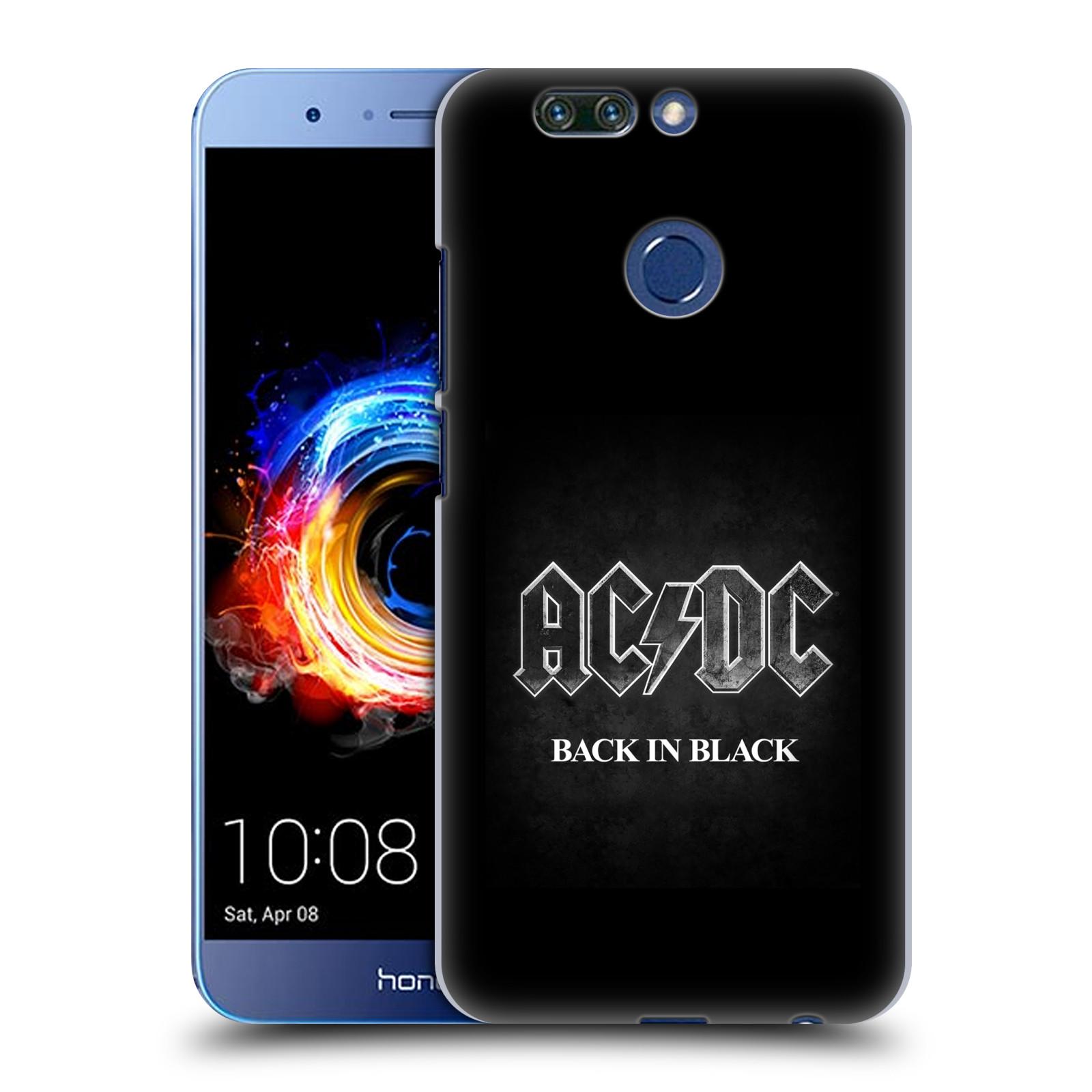 Plastové pouzdro na mobil Honor 8 Pro - Head Case - AC/DC BACK IN BLACK (Plastový kryt či obal na mobilní telefon Honor 8 Pro s motivem AC/DC BACK IN BLACK)