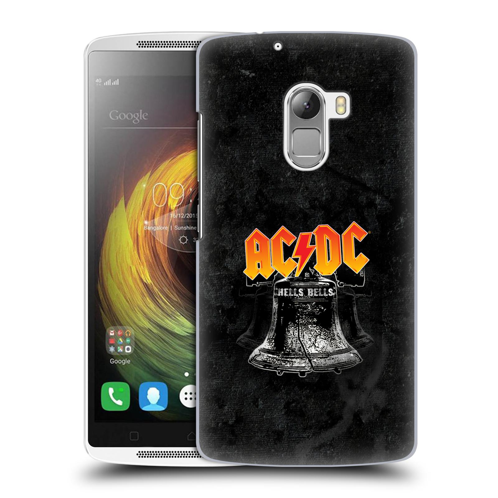 Plastové pouzdro na mobil Lenovo A7010 HEAD CASE AC/DC Hells Bells
