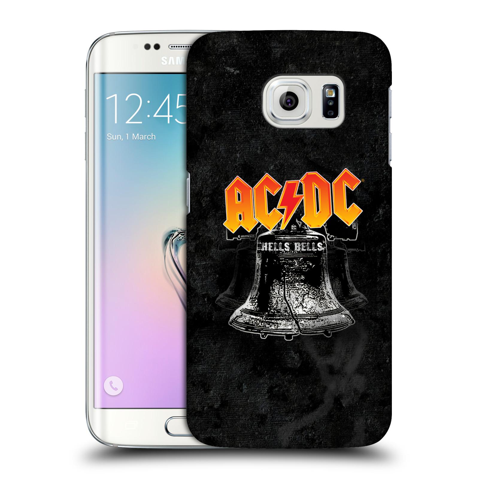 Plastové pouzdro na mobil Samsung Galaxy S6 Edge HEAD CASE AC/DC Hells Bells