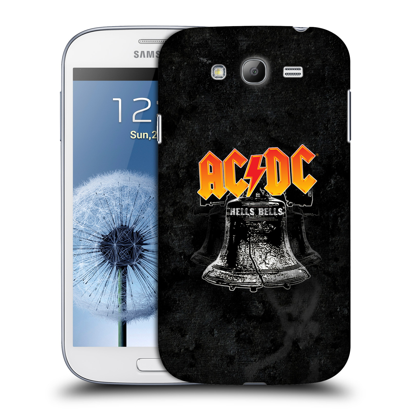 Plastové pouzdro na mobil Samsung Galaxy Grand Neo Plus HEAD CASE AC DC Hells Bells
