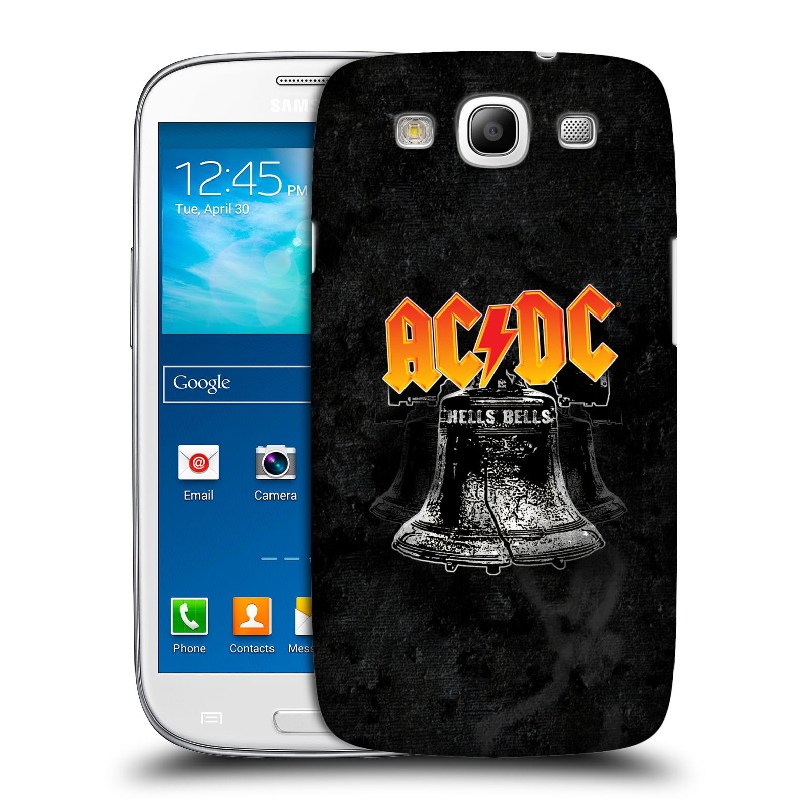 Plastové pouzdro na mobil Samsung Galaxy S III HEAD CASE AC/DC Hells Bells