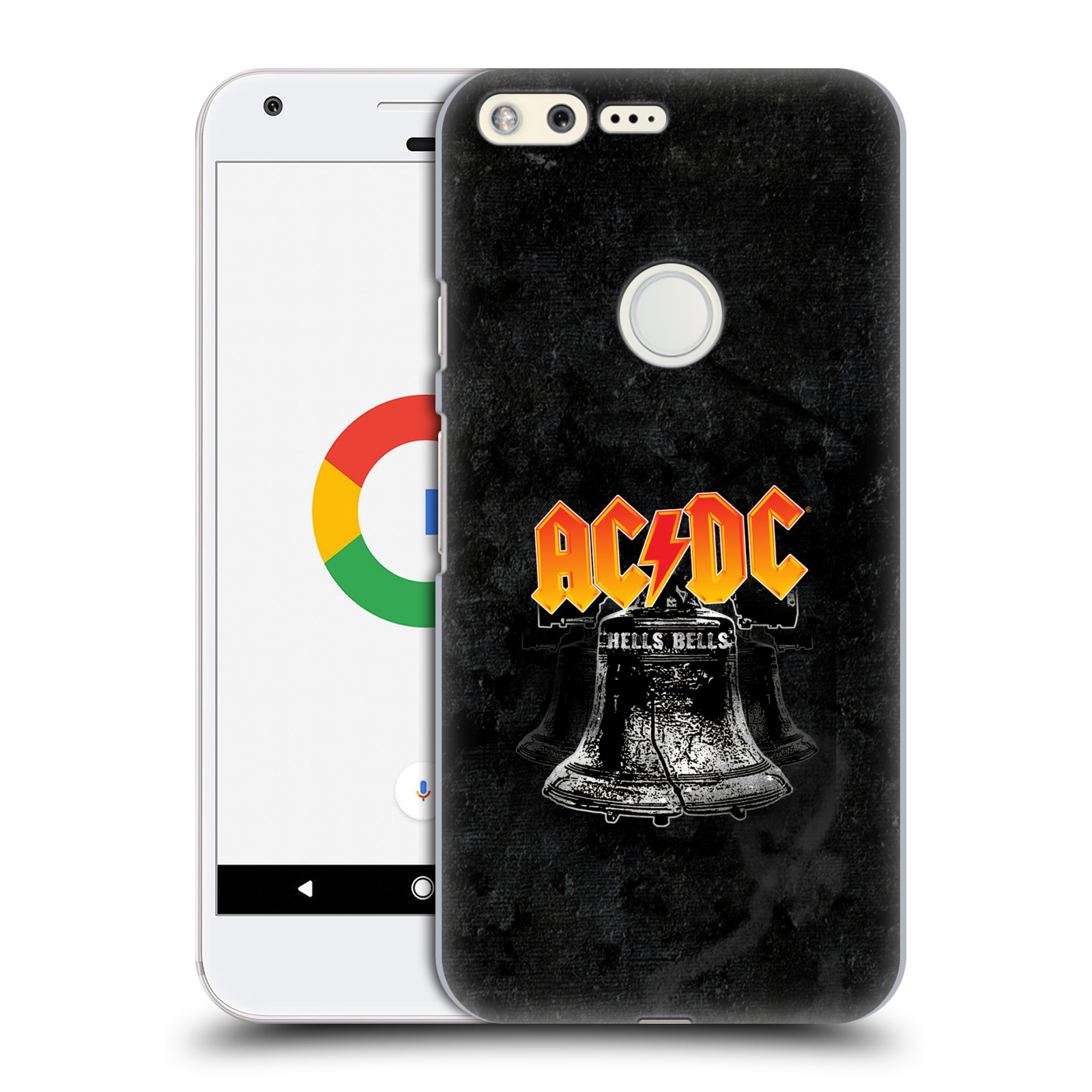 Plastové pouzdro na mobil Google Pixel HEAD CASE AC/DC Hells Bells