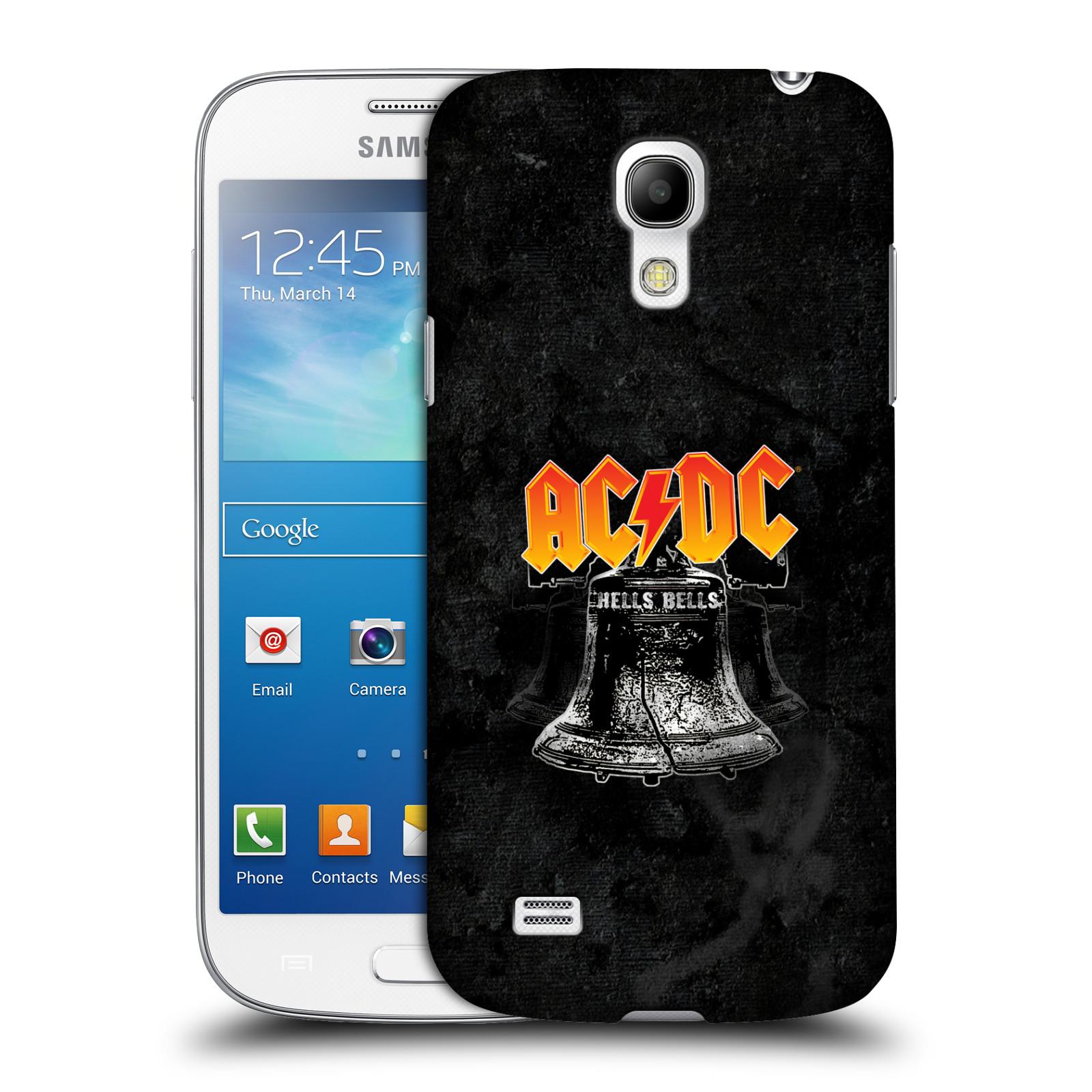 Plastové pouzdro na mobil Samsung Galaxy S4 Mini VE HEAD CASE AC/DC Hells Bells