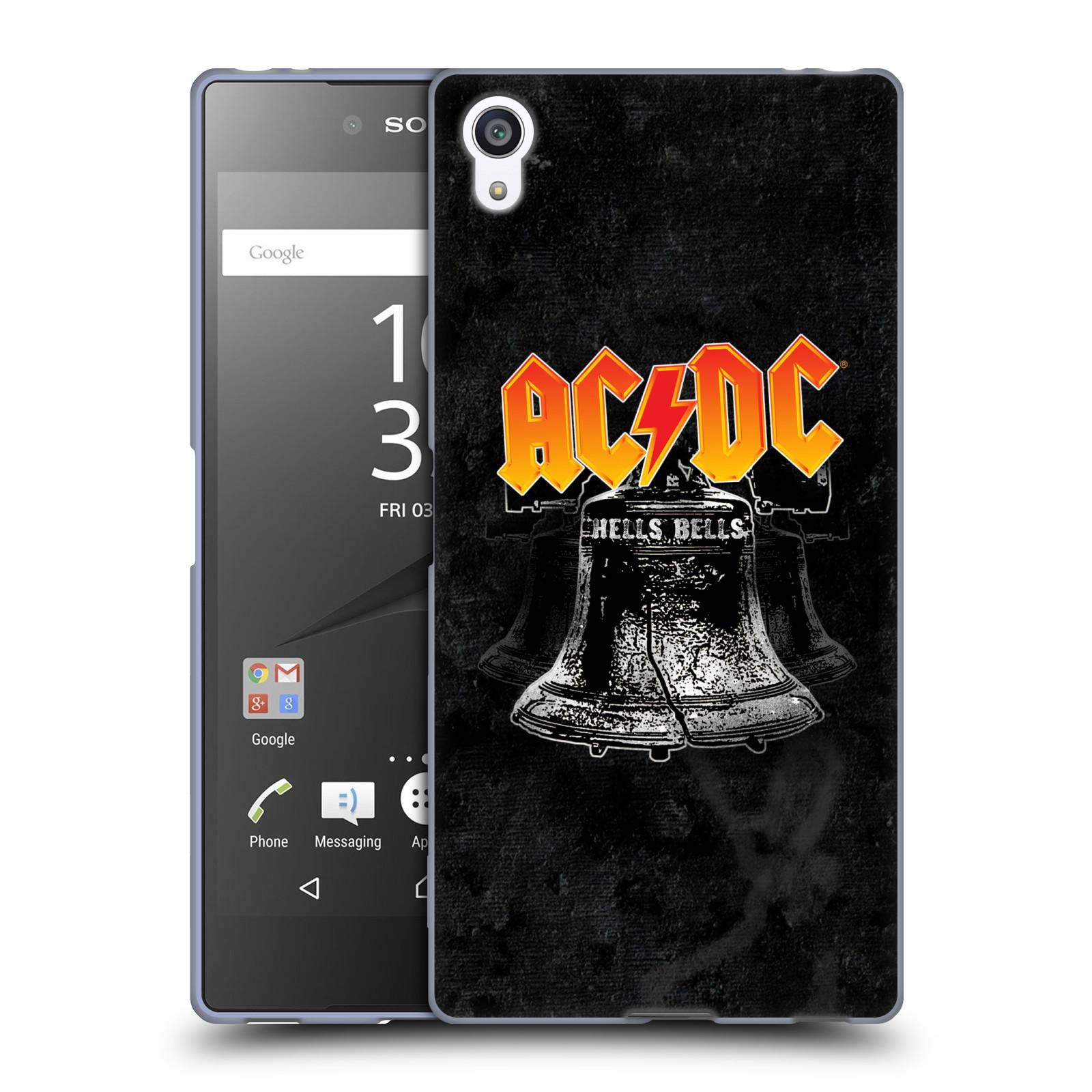 Silikonové pouzdro na mobil Sony Xperia Z5 Premium HEAD CASE AC/DC Hells Bells