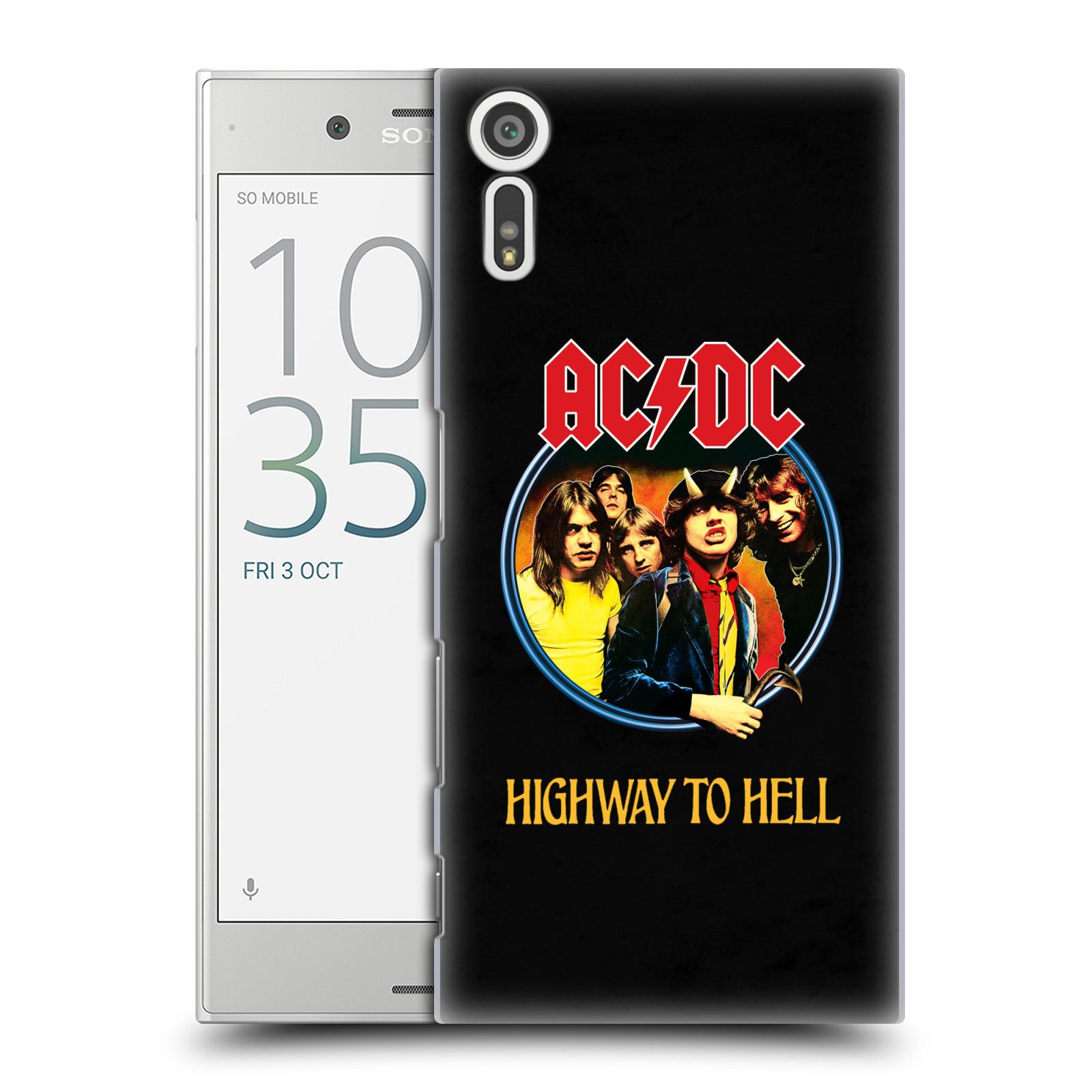 Plastové pouzdro na mobil Sony Xperia XZ - Head Case AC/DC Highway to Hell