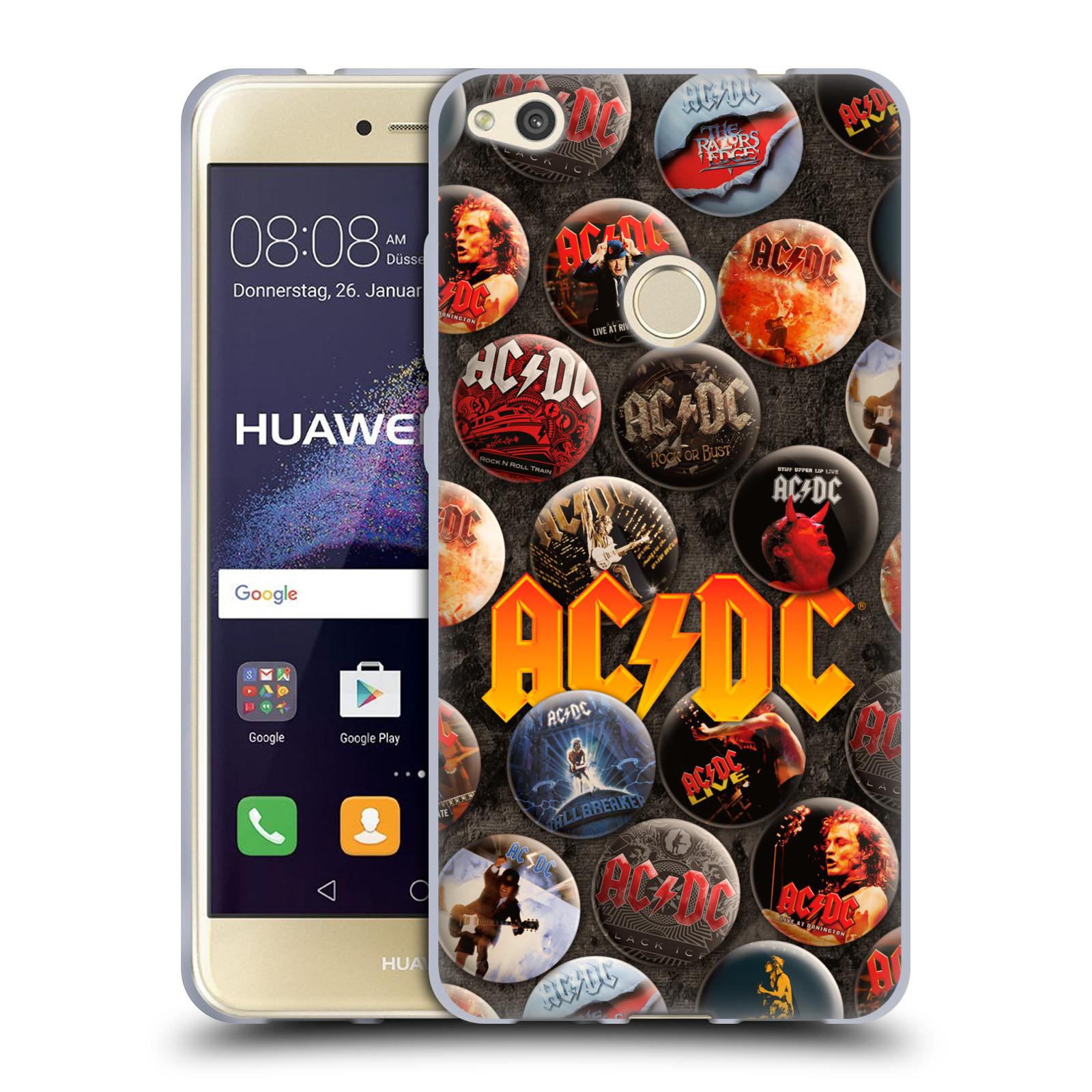 Silikonové pouzdro na mobil Huawei P9 Lite (2017) HEAD CASE AC/DC Placky