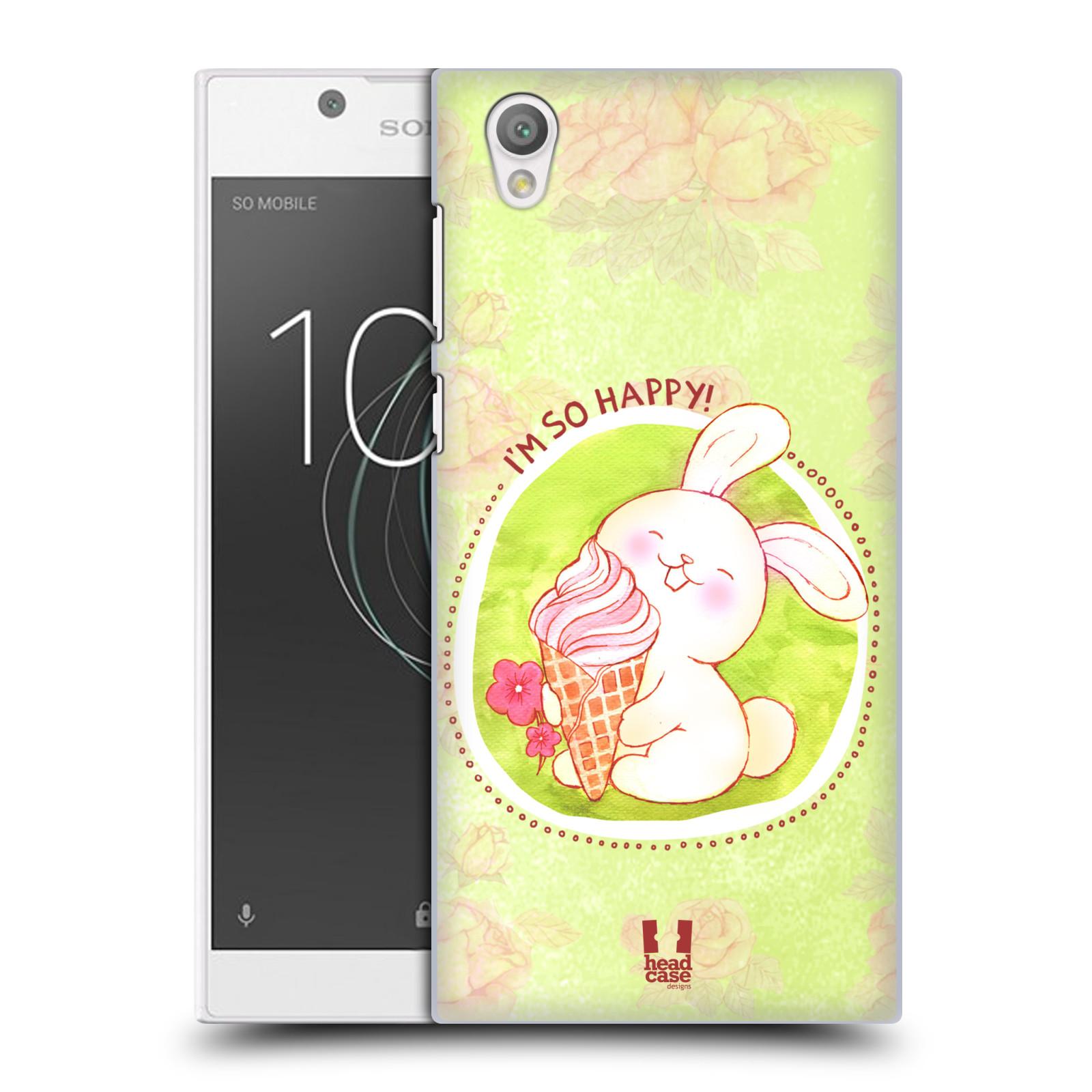 Plastové pouzdro na mobil Sony Xperia L1 - Head Case - KRÁLÍČEK A ZMRZKA