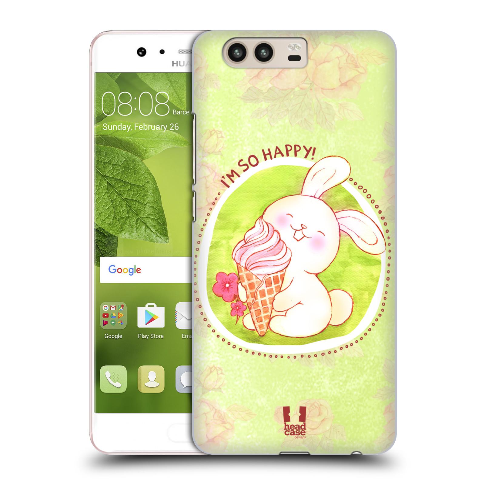 Plastové pouzdro na mobil Huawei P10 - Head Case KRÁLÍČEK A ZMRZKA