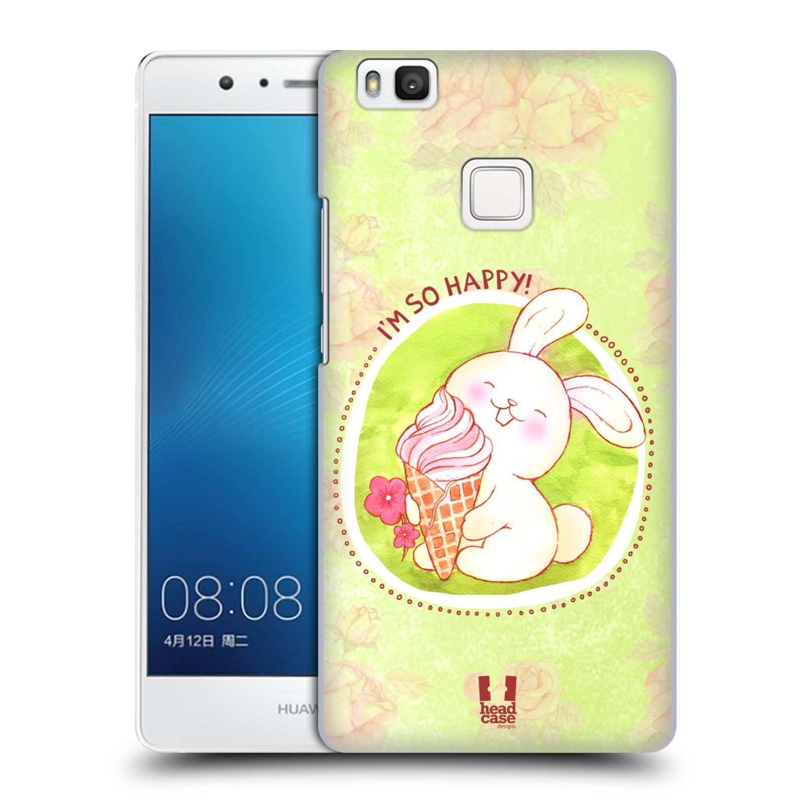 Plastové pouzdro na mobil Huawei P9 Lite HEAD CASE KRÁLÍČEK A ZMRZKA
