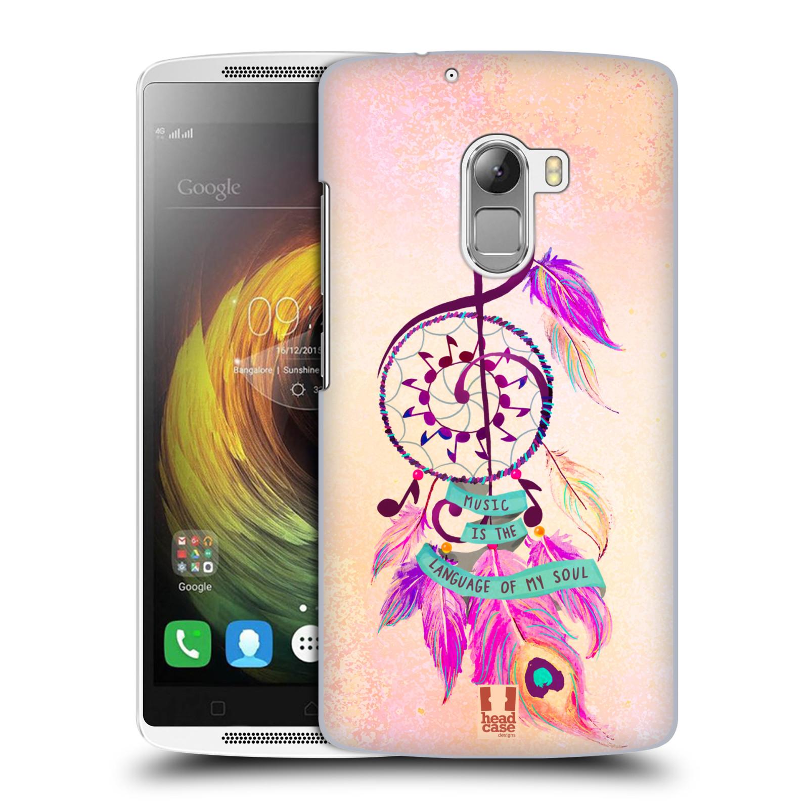 Plastové pouzdro na mobil Lenovo A7010 HEAD CASE Lapač Assorted Music
