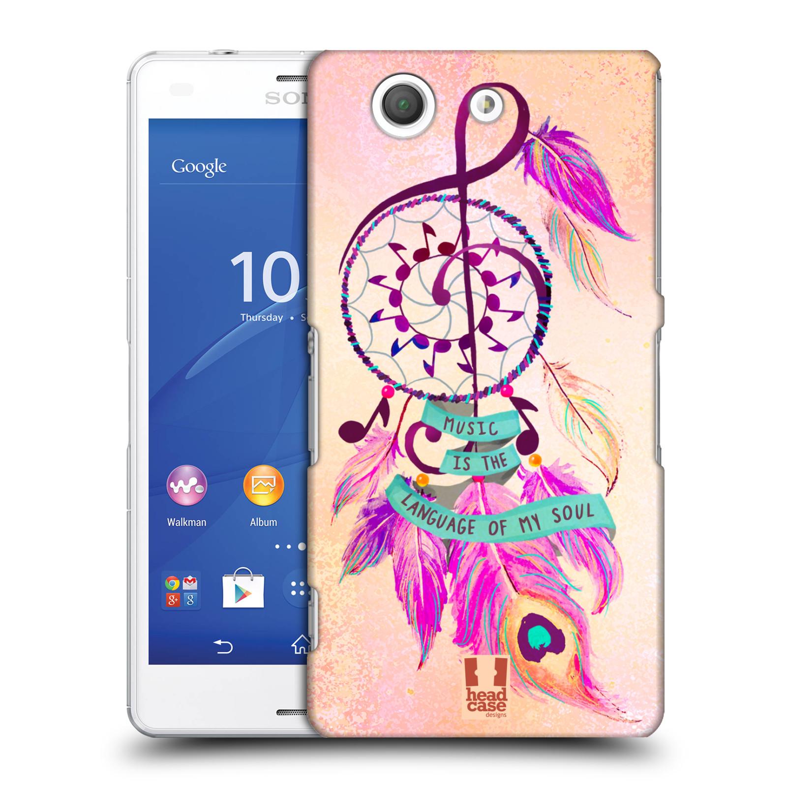 Plastové pouzdro na mobil Sony Xperia Z3 Compact D5803 HEAD CASE Lapač Assorted Music