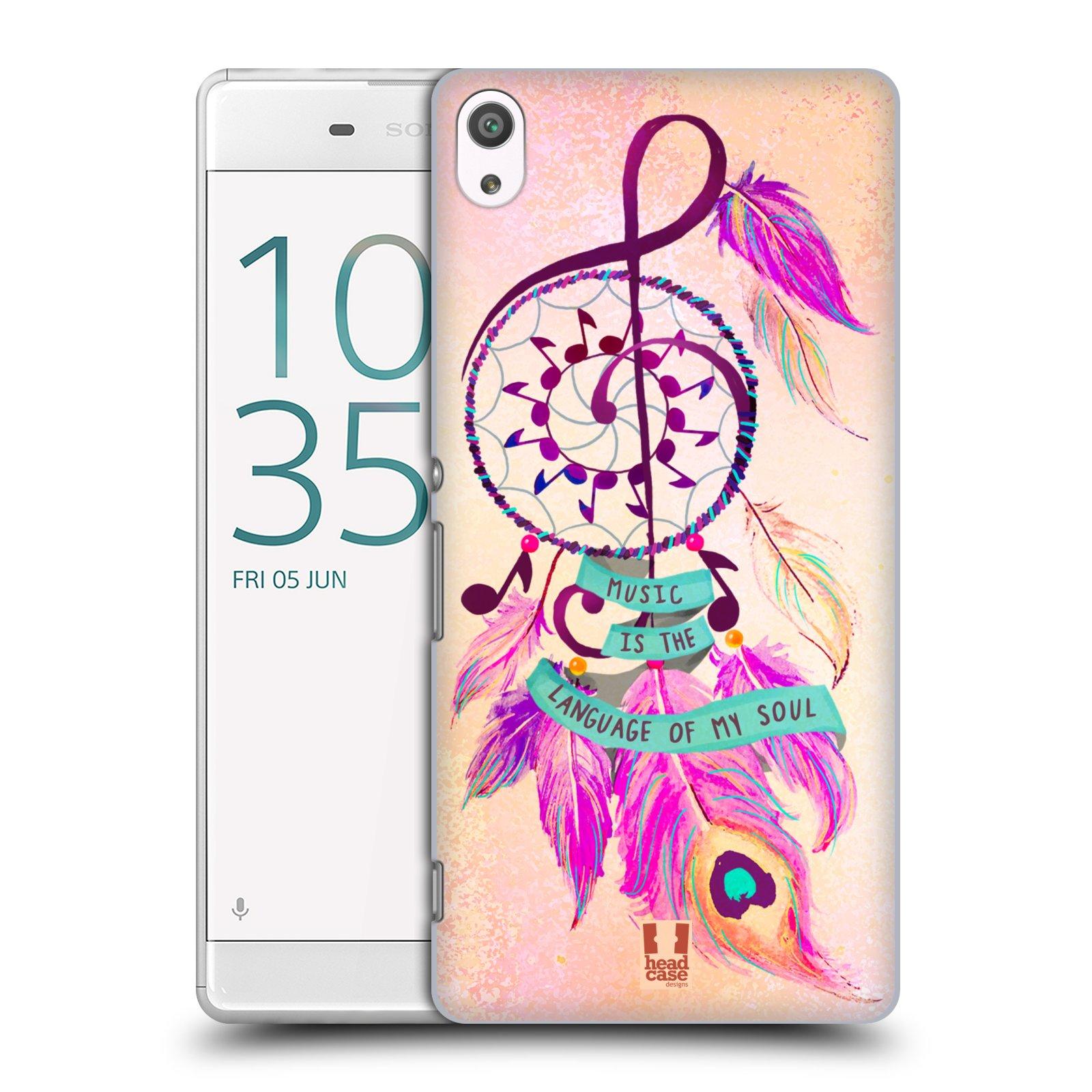 Plastové pouzdro na mobil Sony Xperia XA Ultra HEAD CASE Lapač Assorted Music