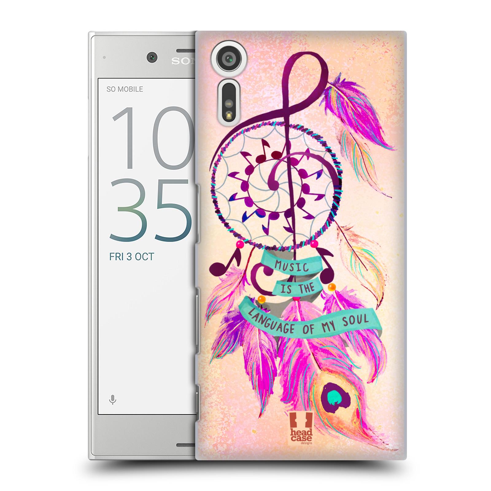 Plastové pouzdro na mobil Sony Xperia XZ - Head Case Lapač Assorted Music
