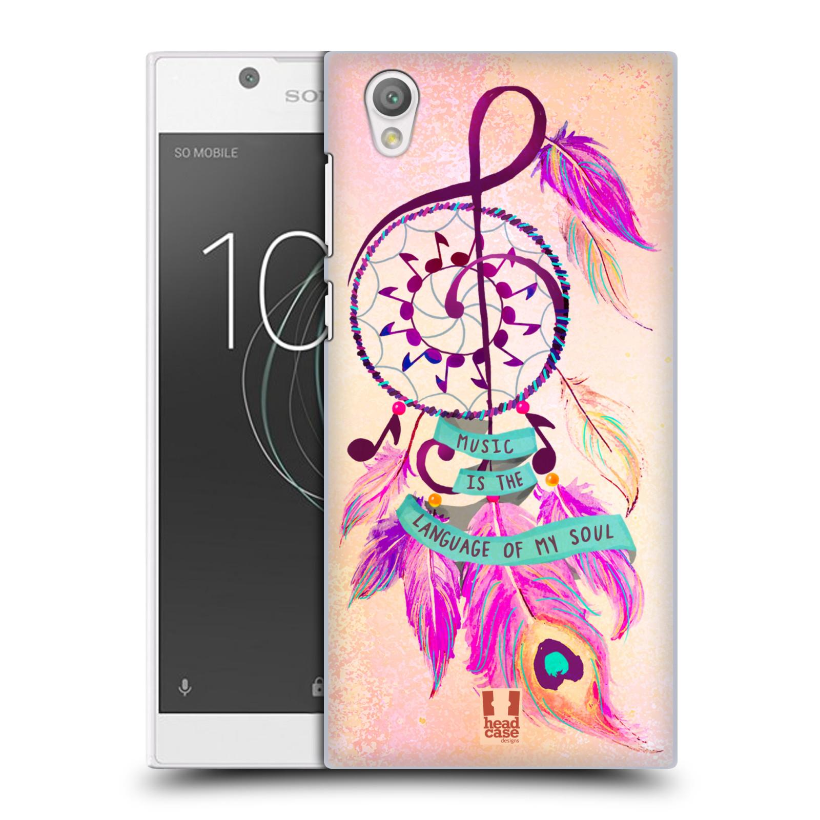Plastové pouzdro na mobil Sony Xperia L1 - Head Case - Lapač Assorted Music