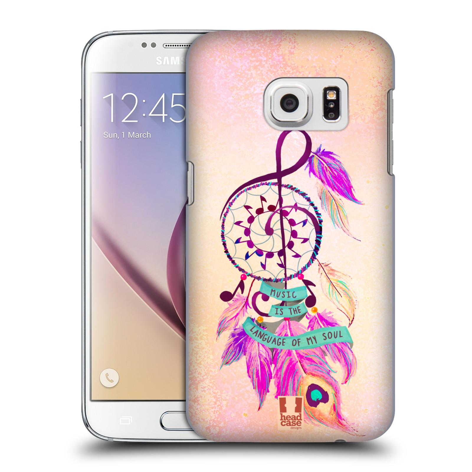 Plastové pouzdro na mobil Samsung Galaxy S7 HEAD CASE Lapač Assorted Music