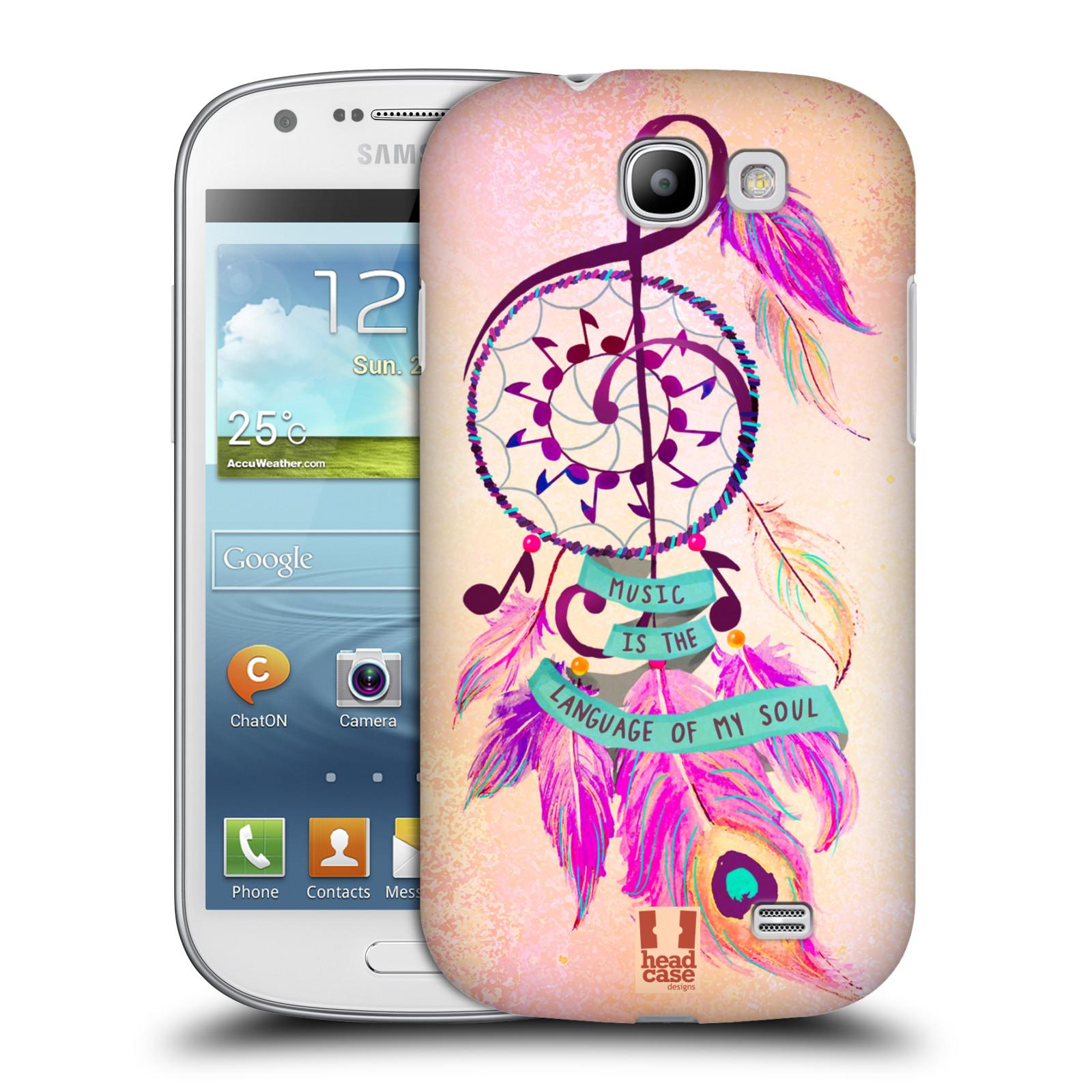 Plastové pouzdro na mobil Samsung Galaxy Express HEAD CASE Lapač Assorted Music (Kryt či obal na mobilní telefon Samsung Galaxy Express GT-i8730)