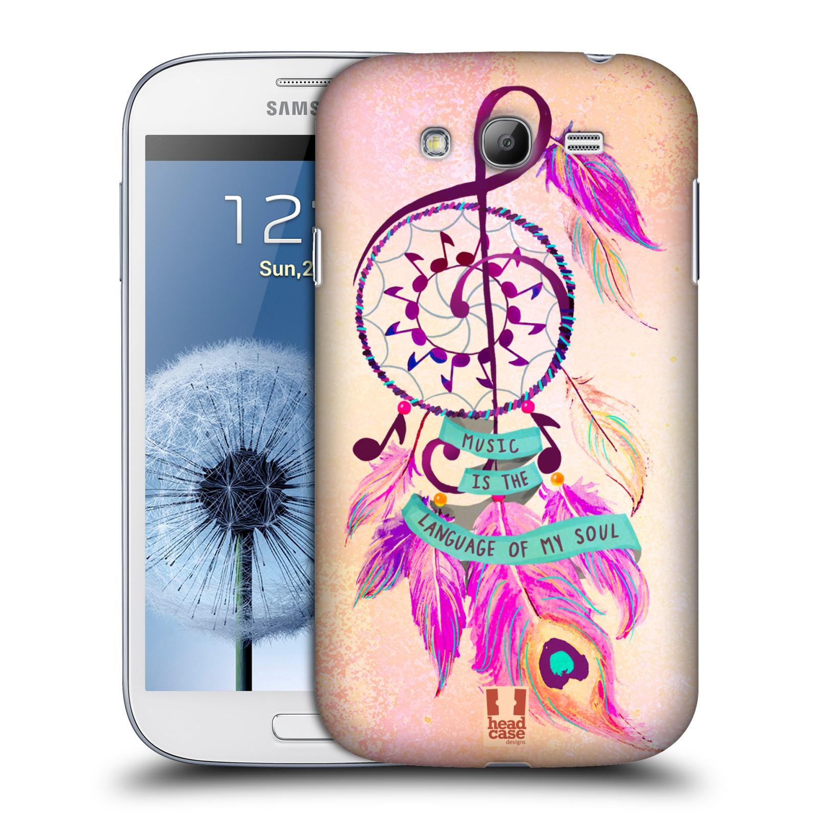 Plastové pouzdro na mobil Samsung Galaxy Grand Neo HEAD CASE Lapač Assorted Music
