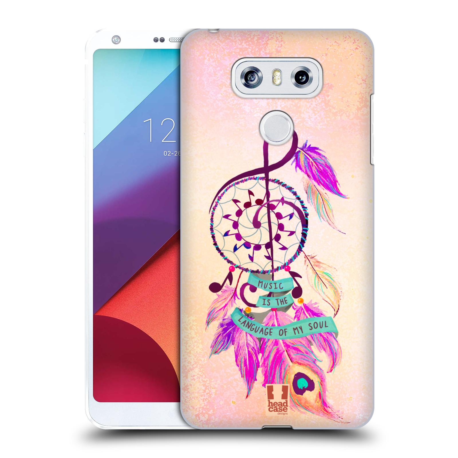 Plastové pouzdro na mobil LG G6 - Head Case Lapač Assorted Music