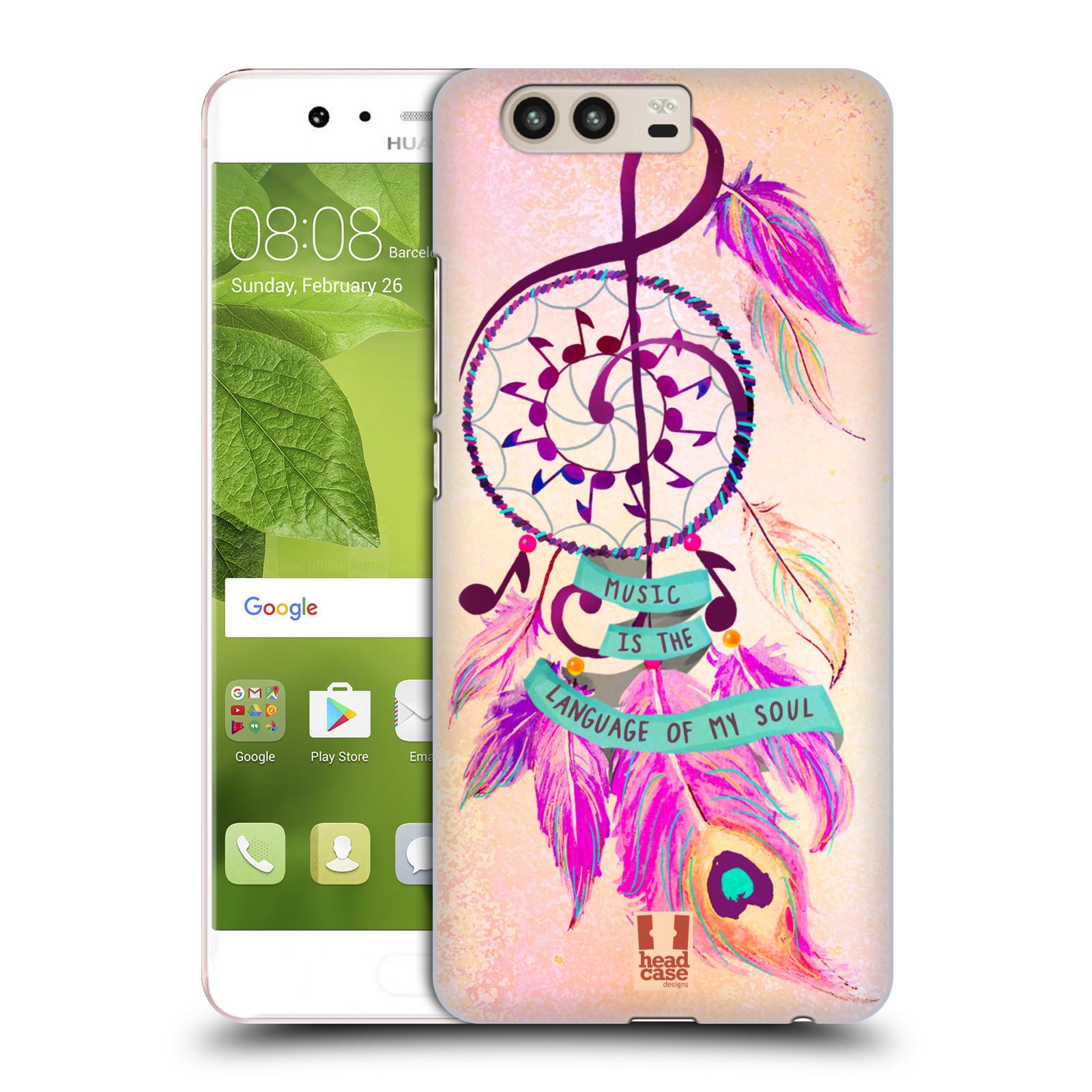 Plastové pouzdro na mobil Huawei P10 - Head Case Lapač Assorted Music