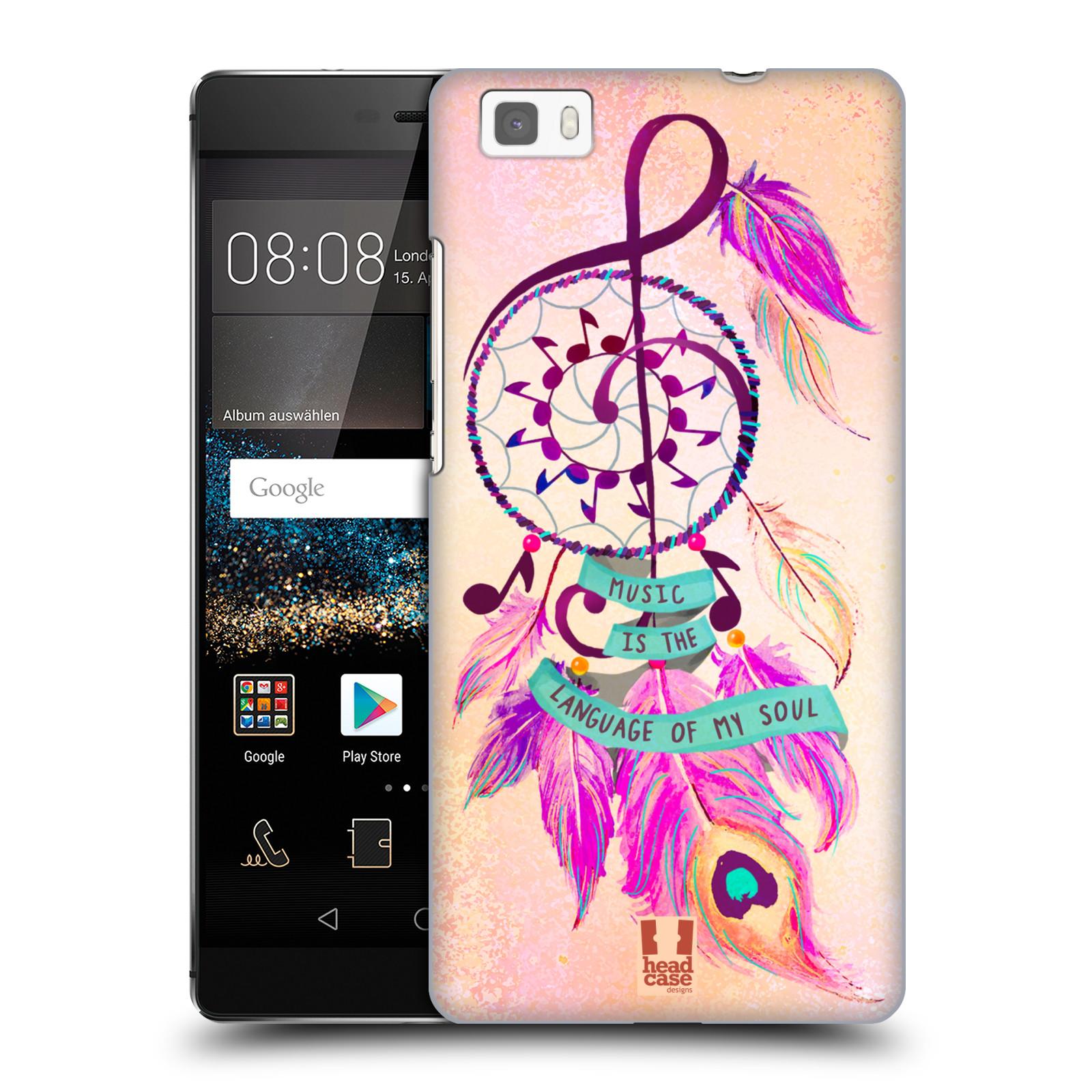 Plastové pouzdro na mobil Huawei P8 Lite HEAD CASE Lapač Assorted Music