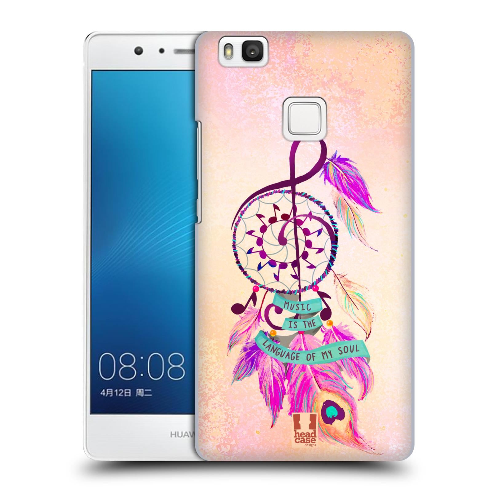 Plastové pouzdro na mobil Huawei P9 Lite HEAD CASE Lapač Assorted Music