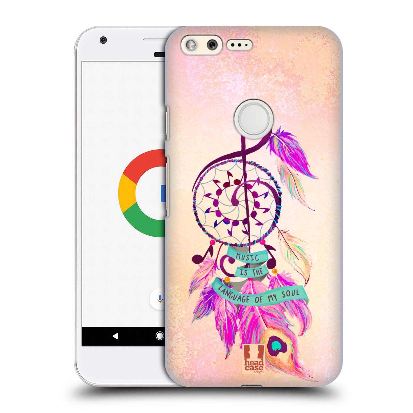Plastové pouzdro na mobil Google Pixel HEAD CASE Lapač Assorted Music