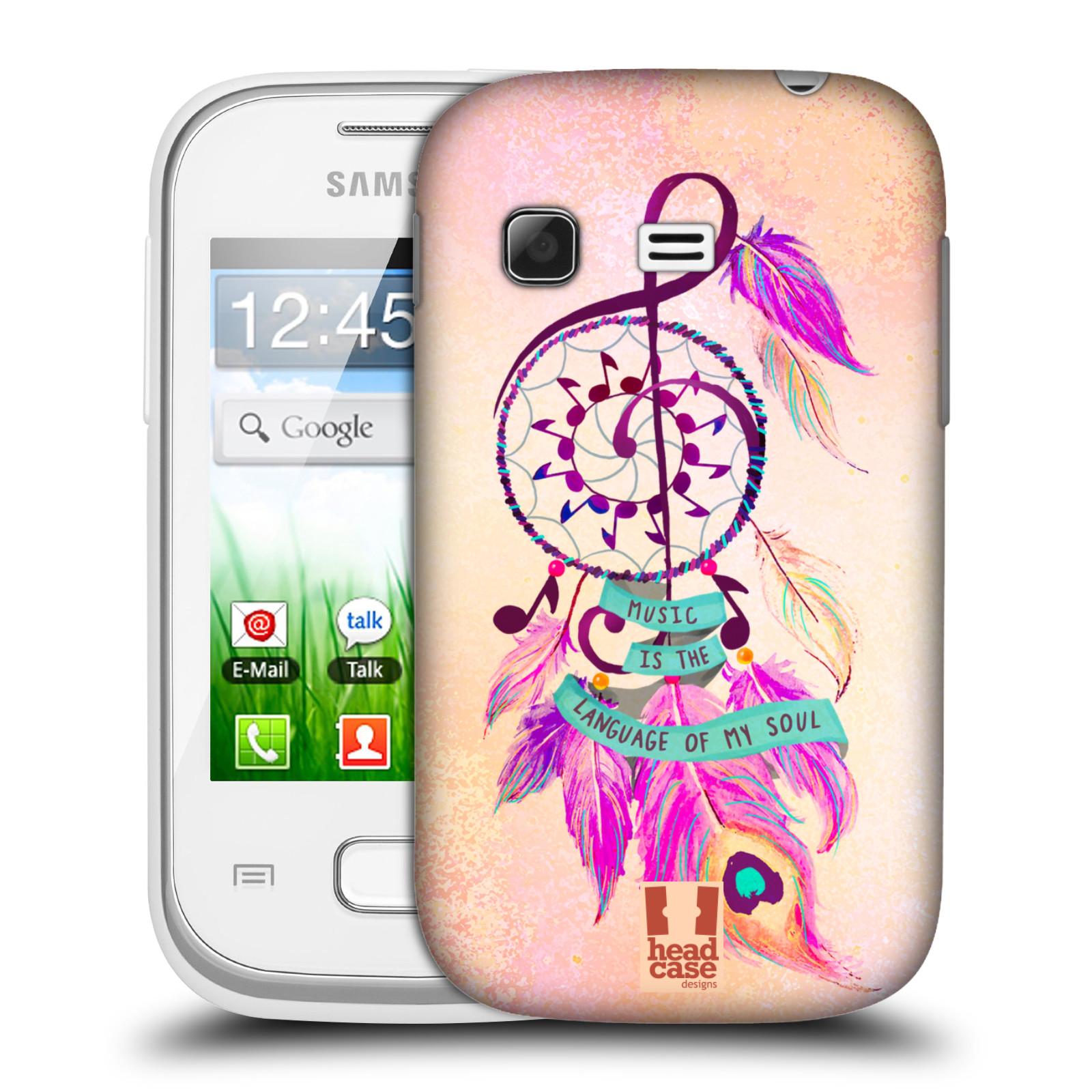 Plastové pouzdro na mobil Samsung Galaxy Pocket HEAD CASE Lapač Assorted Music (Kryt či obal na mobilní telefon Samsung Galaxy Pocket GT-S5300)