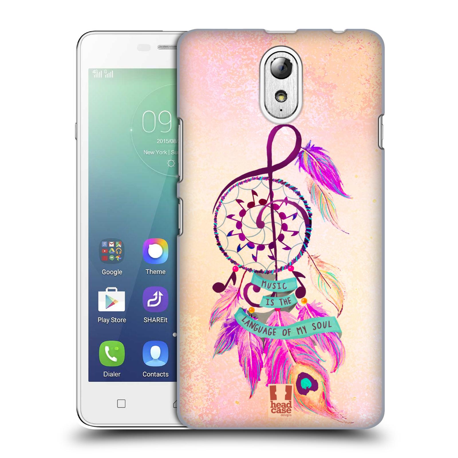 Plastové pouzdro na mobil Lenovo Vibe P1m HEAD CASE Lapač Assorted Music
