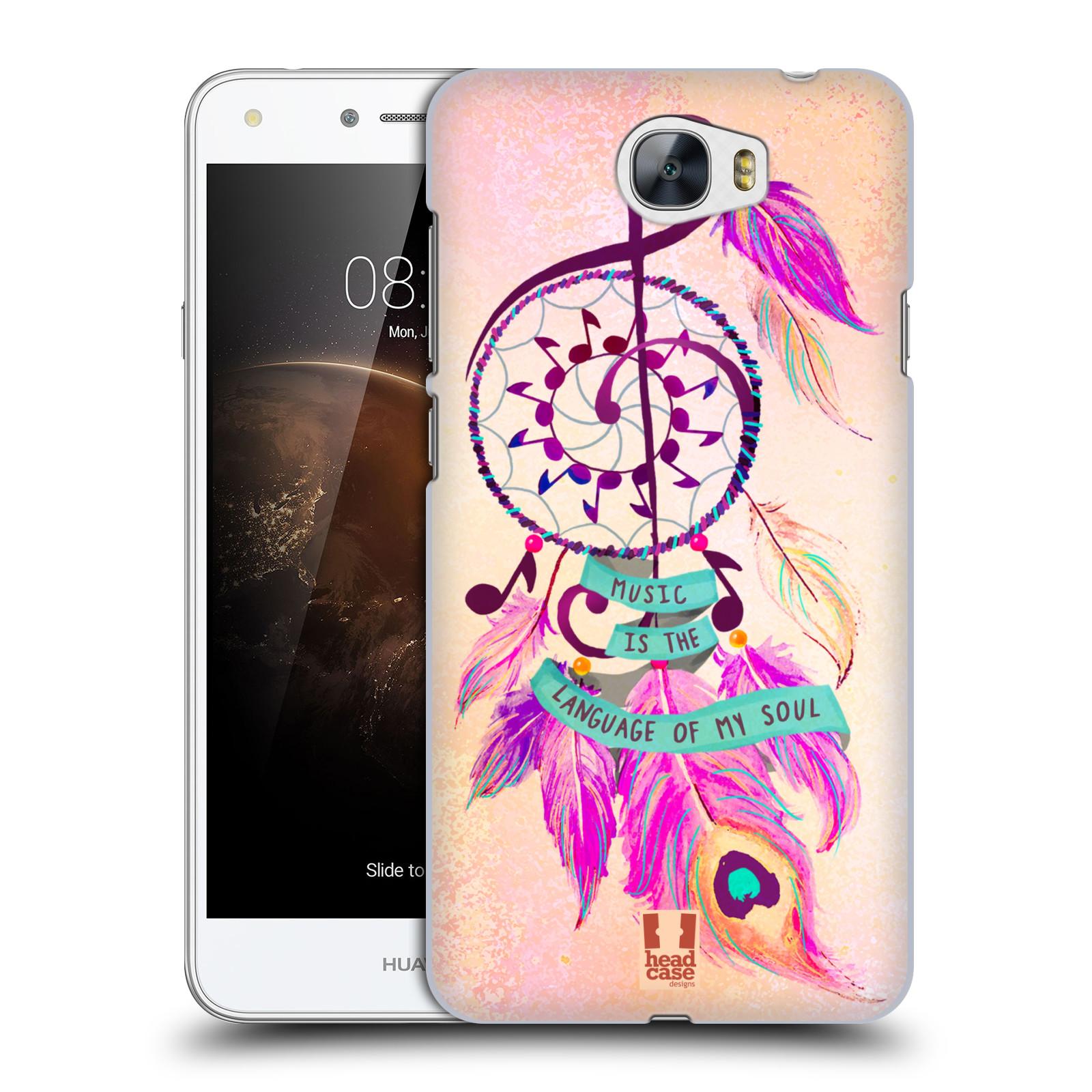 Plastové pouzdro na mobil Huawei Y5 II HEAD CASE Lapač Assorted Music