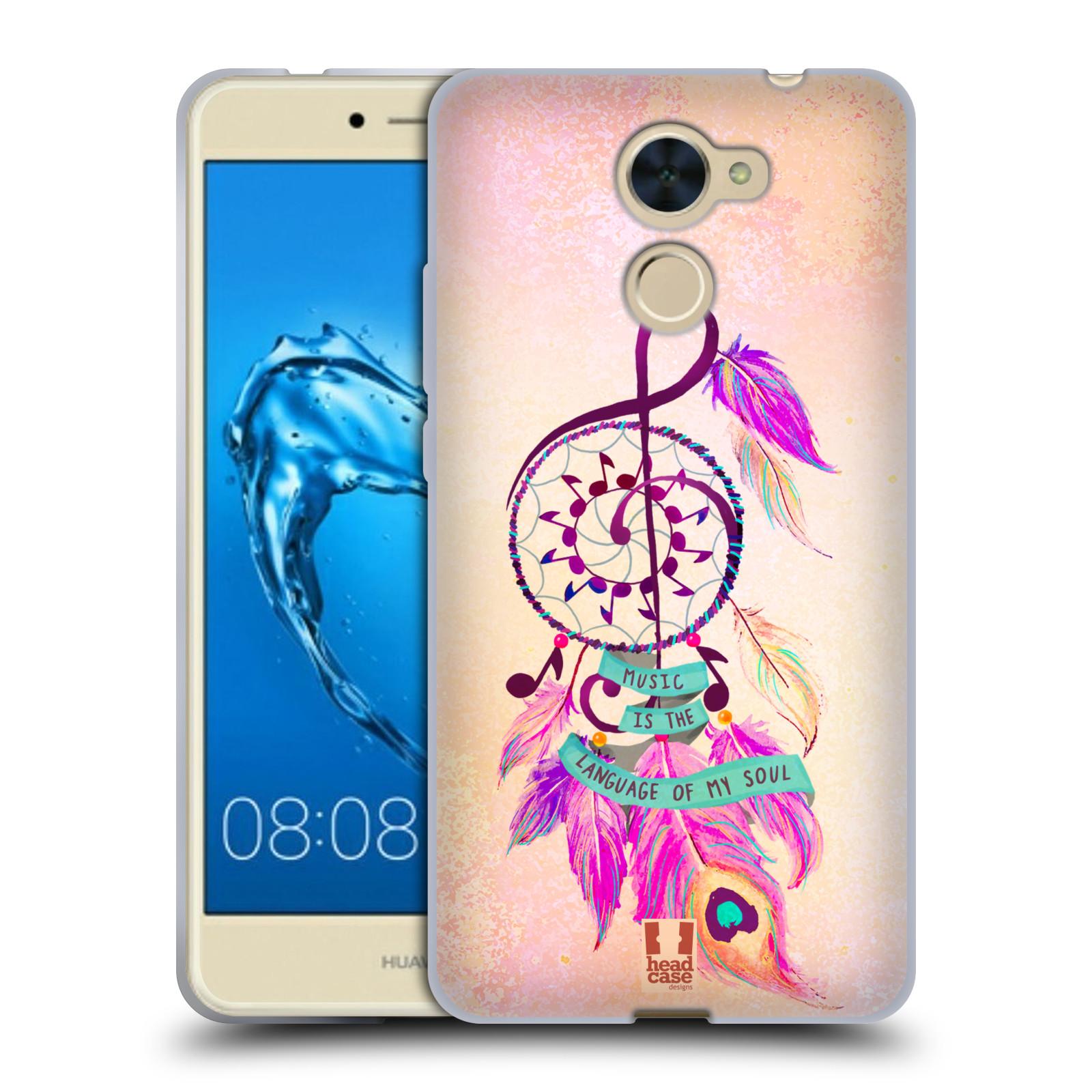 Silikonové pouzdro na mobil Huawei Y7 - Head Case - Lapač Assorted Music