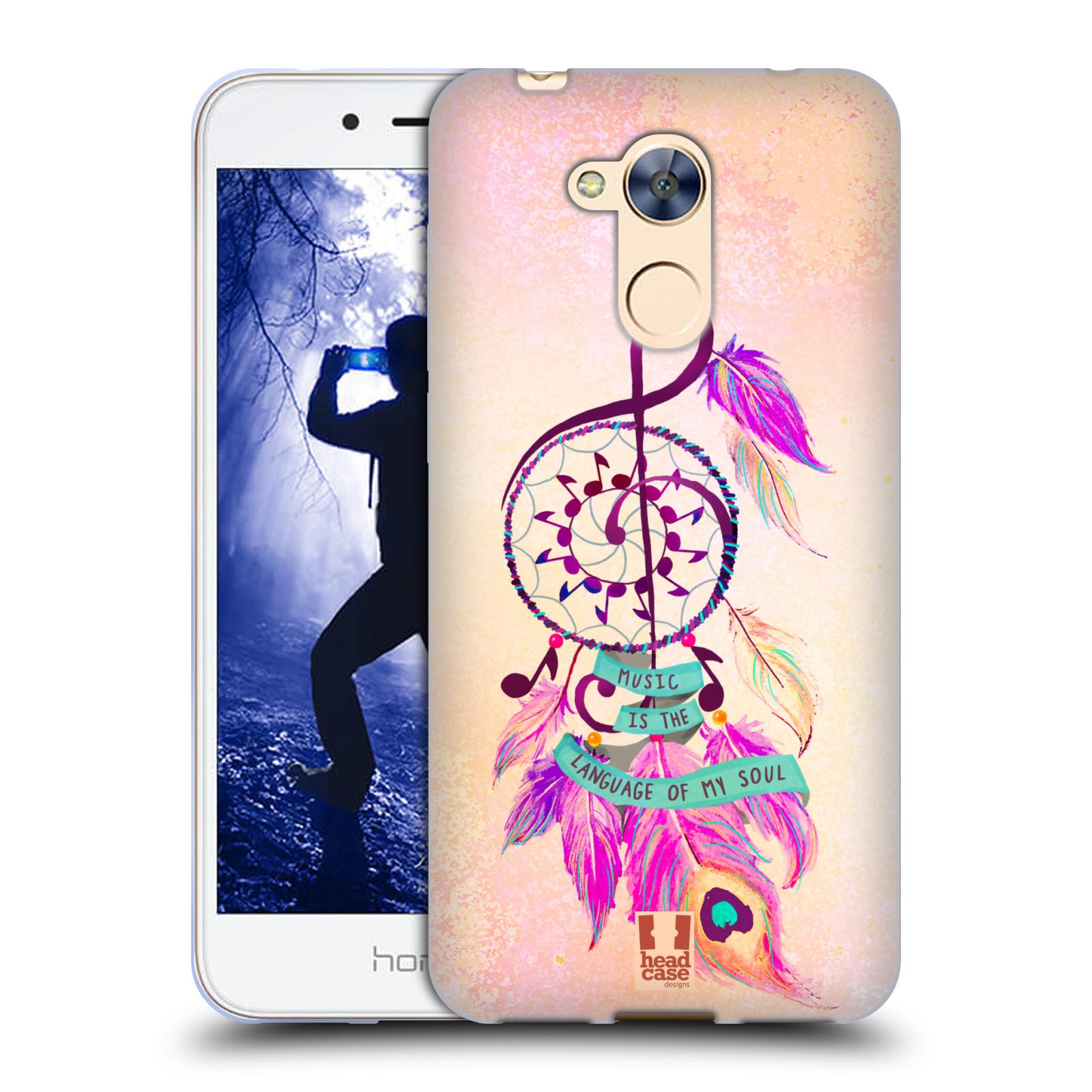 Silikonové pouzdro na mobil Honor 6A - Head Case - Lapač Assorted Music