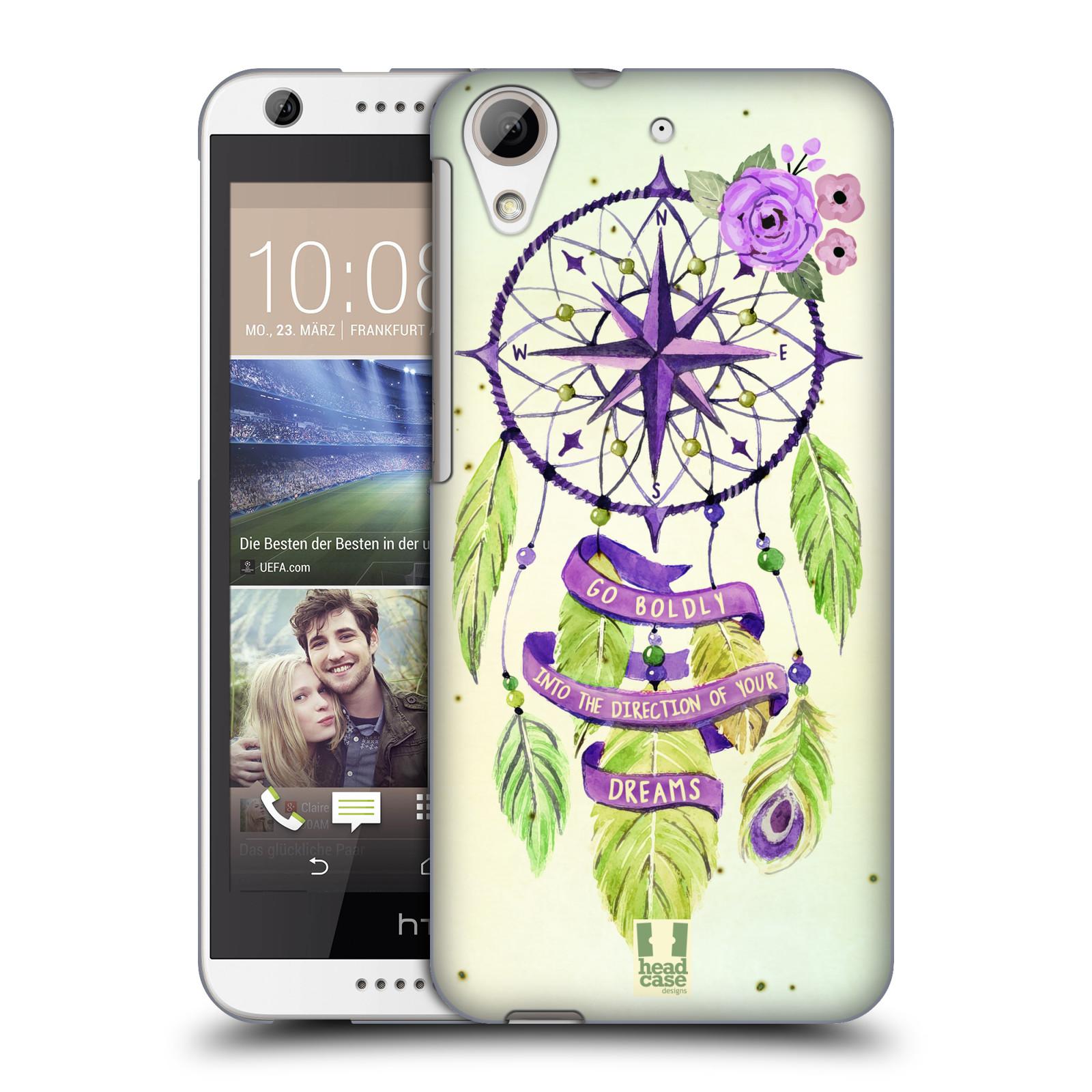 Plastové pouzdro na mobil HTC Desire 626 / 626G HEAD CASE Lapač Assorted Compass (Kryt či obal na mobilní telefon HTC Desire 626G Dual SIM a HTC Desire 626)