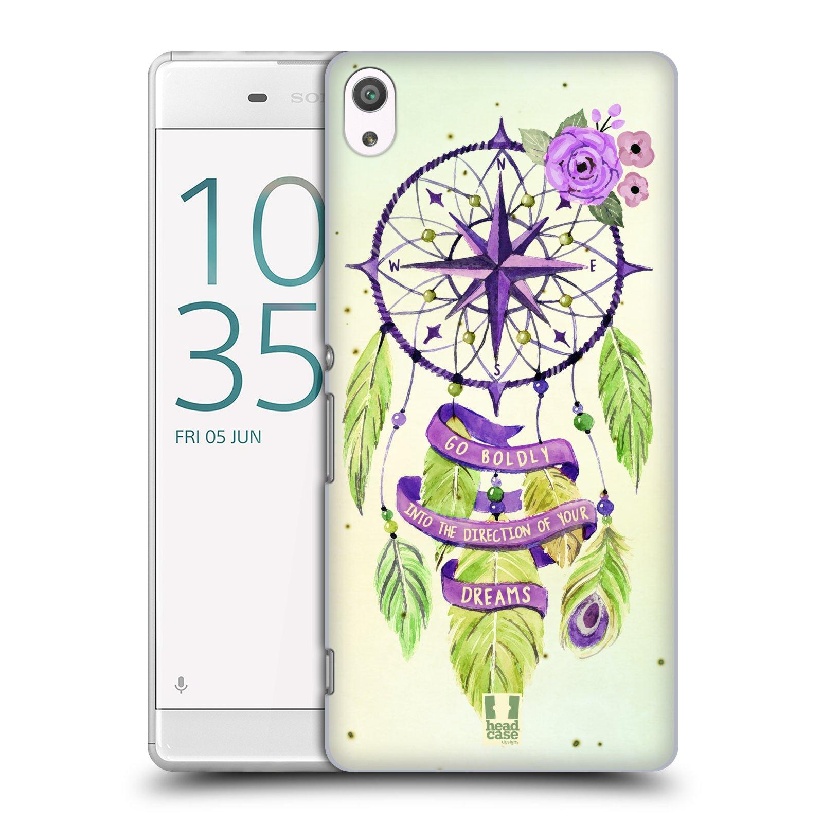 Plastové pouzdro na mobil Sony Xperia XA Ultra HEAD CASE Lapač Assorted Compass
