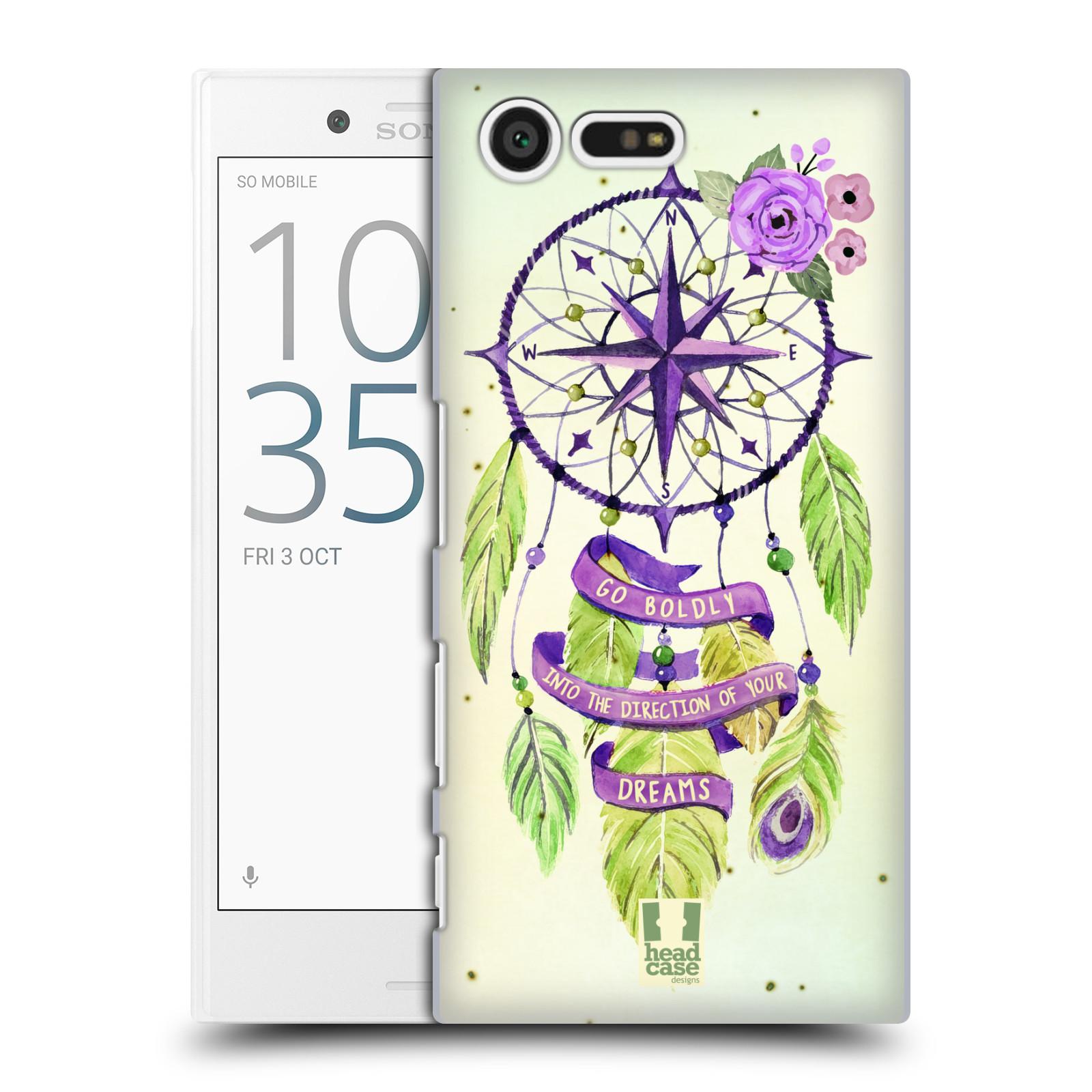 Plastové pouzdro na mobil Sony Xperia X Compact HEAD CASE Lapač Assorted Compass