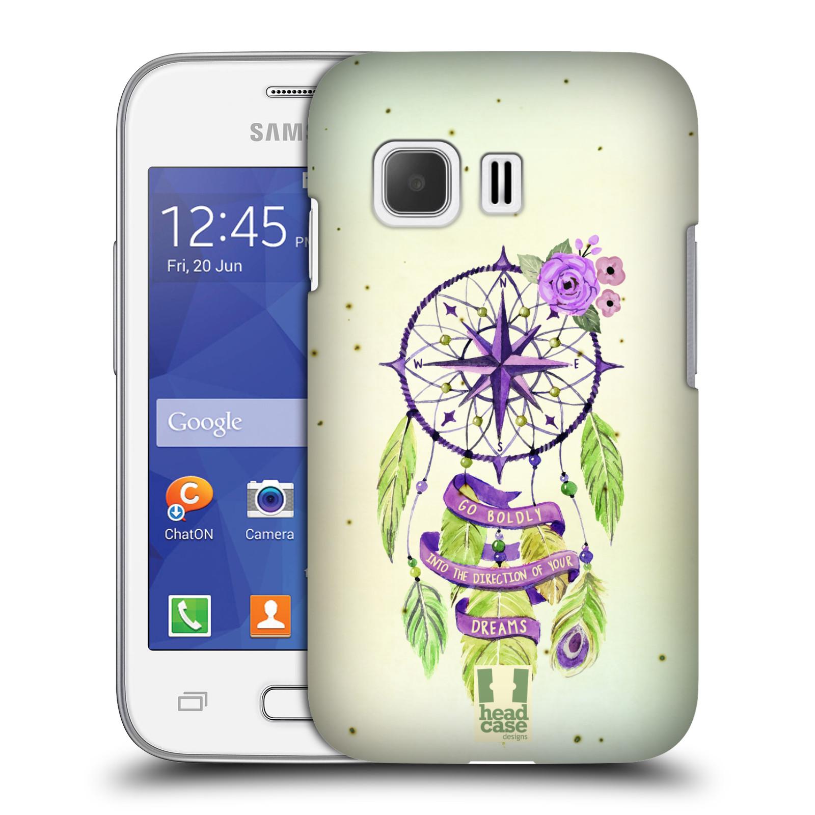 Plastové pouzdro na mobil Samsung Galaxy Young 2 HEAD CASE Lapač Assorted Compass (Kryt či obal na mobilní telefon Samsung Galaxy Young 2 SM-G130)