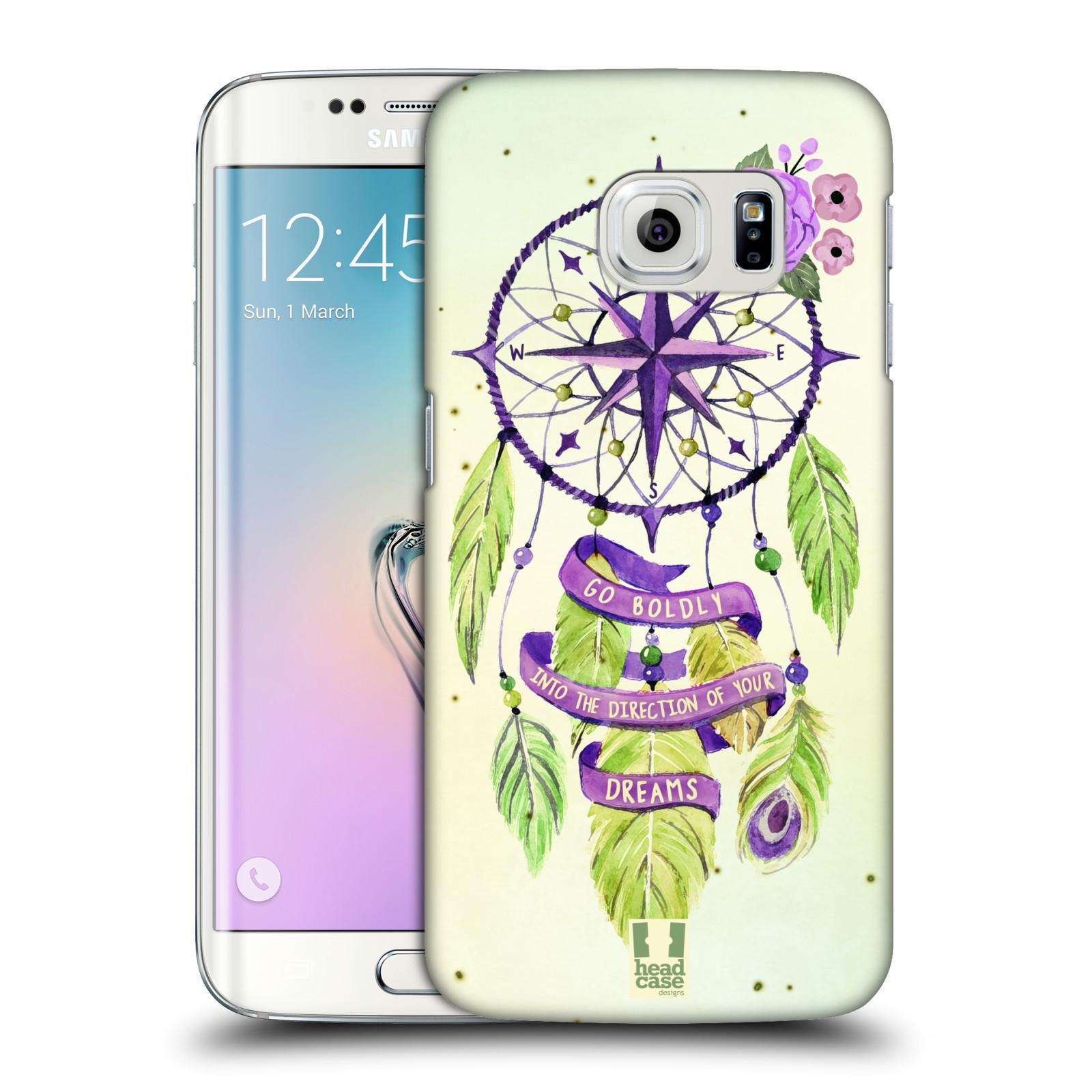 Plastové pouzdro na mobil Samsung Galaxy S6 Edge HEAD CASE Lapač Assorted Compass (Kryt či obal na mobilní telefon Samsung Galaxy S6 Edge SM-G925F)