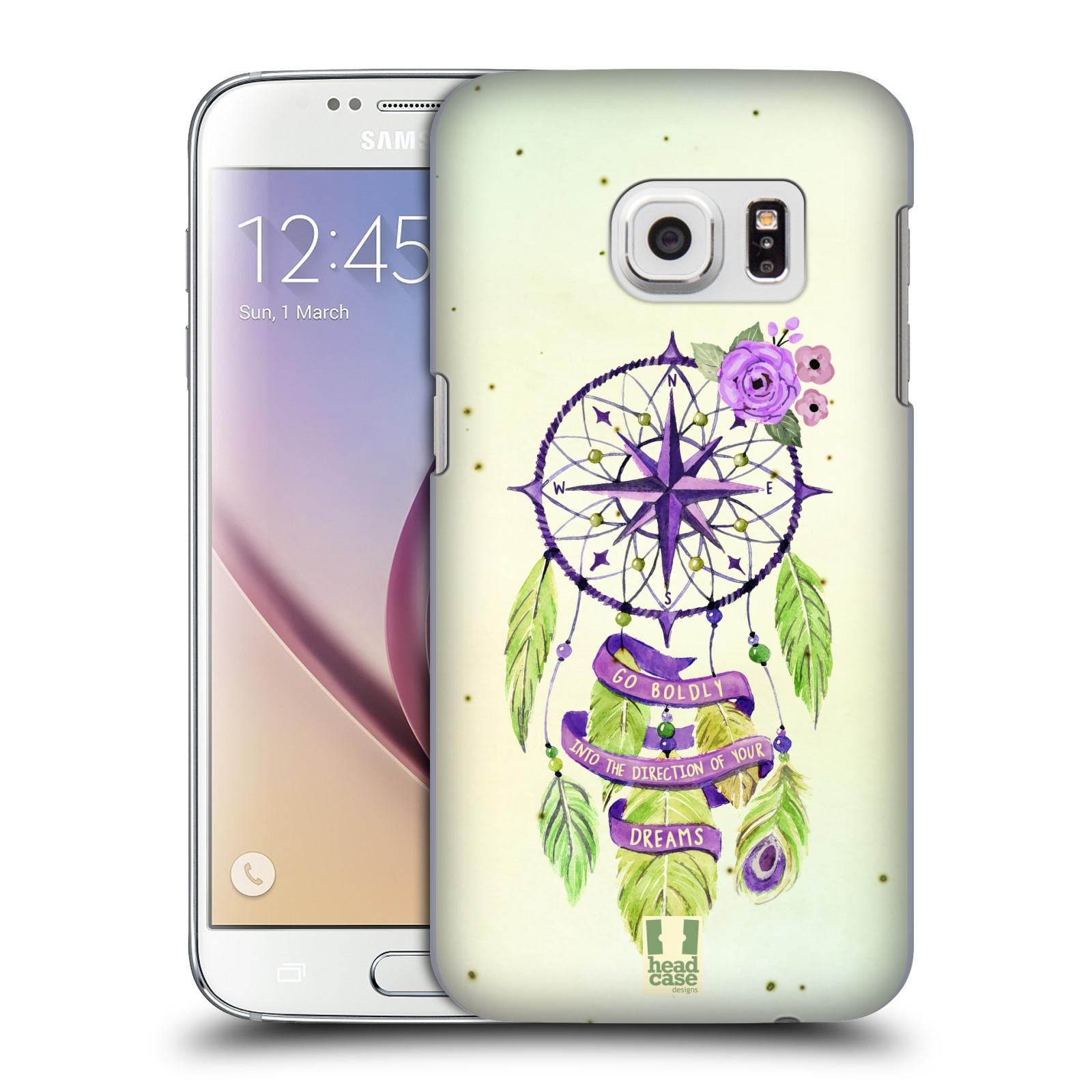 Plastové pouzdro na mobil Samsung Galaxy S7 HEAD CASE Lapač Assorted Compass
