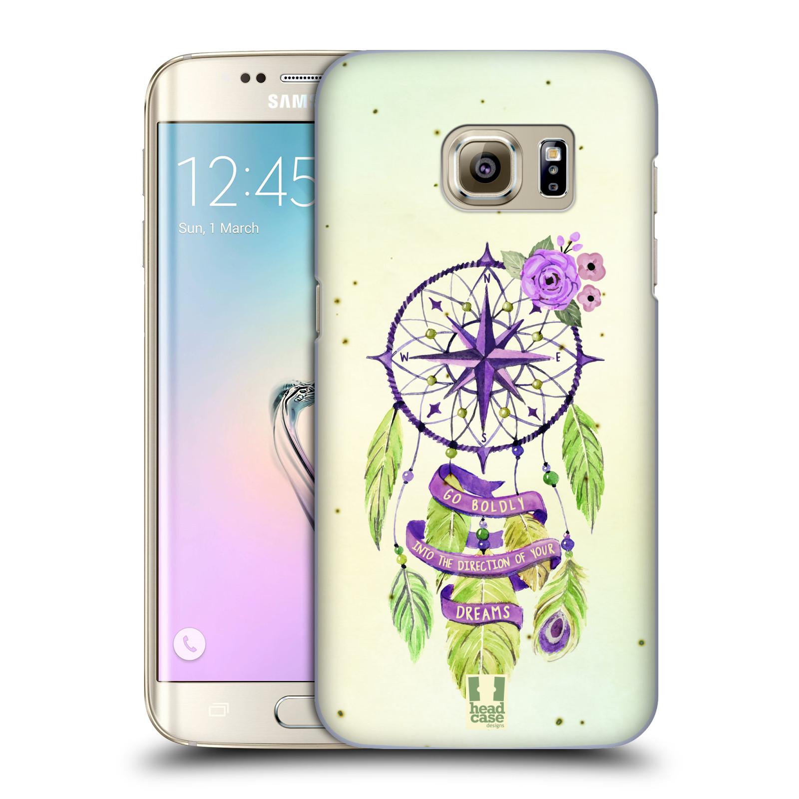 Plastové pouzdro na mobil Samsung Galaxy S7 Edge HEAD CASE Lapač Assorted Compass