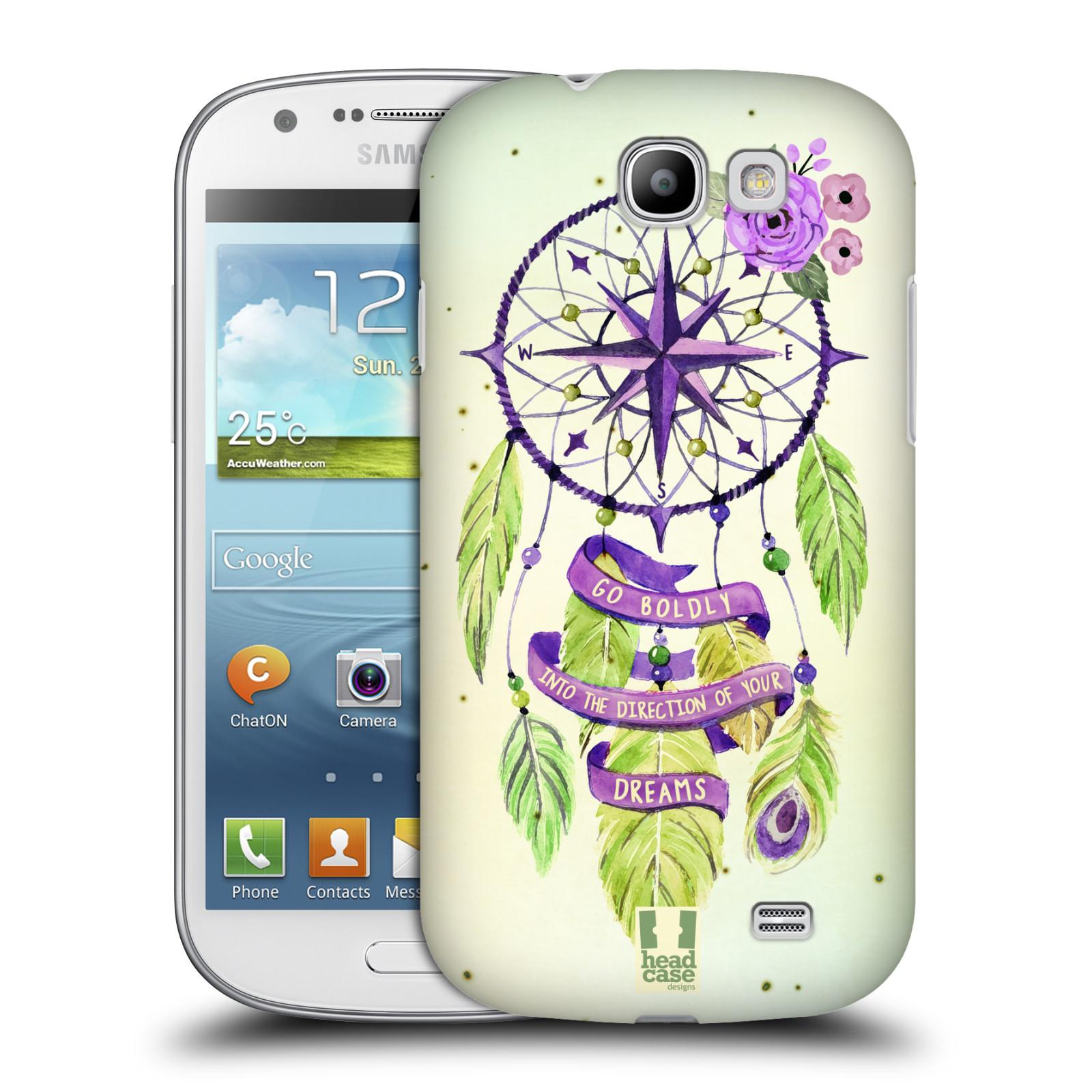 Plastové pouzdro na mobil Samsung Galaxy Express HEAD CASE Lapač Assorted Compass (Kryt či obal na mobilní telefon Samsung Galaxy Express GT-i8730)