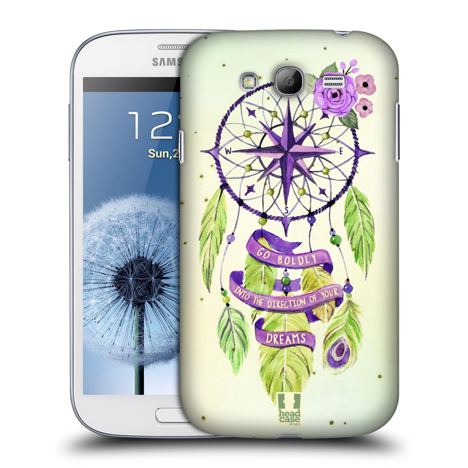 Plastové pouzdro na mobil Samsung Galaxy Grand Neo Plus HEAD CASE Lapač Assorted Compass