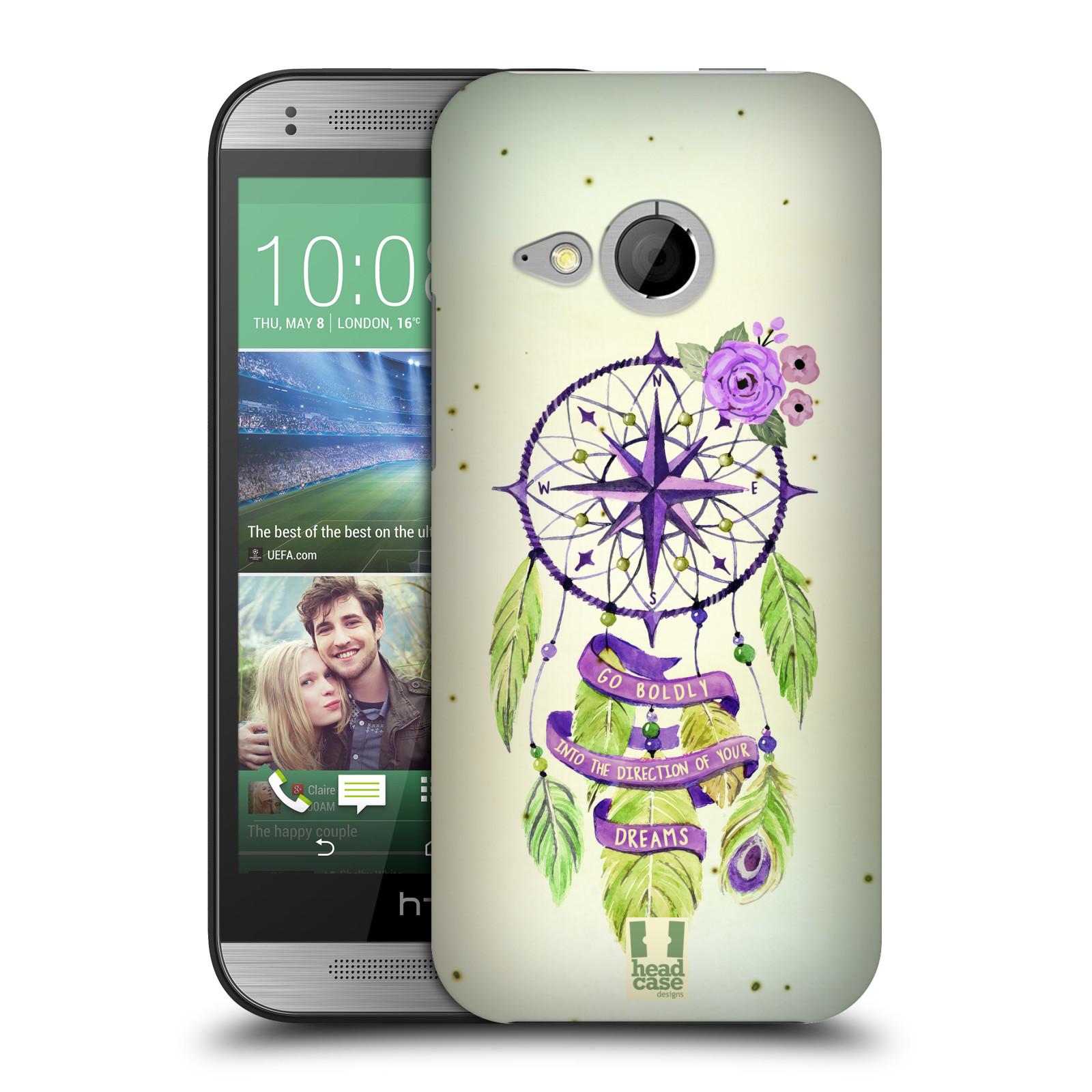 Plastové pouzdro na mobil HTC ONE Mini 2 HEAD CASE Lapač Assorted Compass (Kryt či obal na mobilní telefon HTC ONE Mini 2)