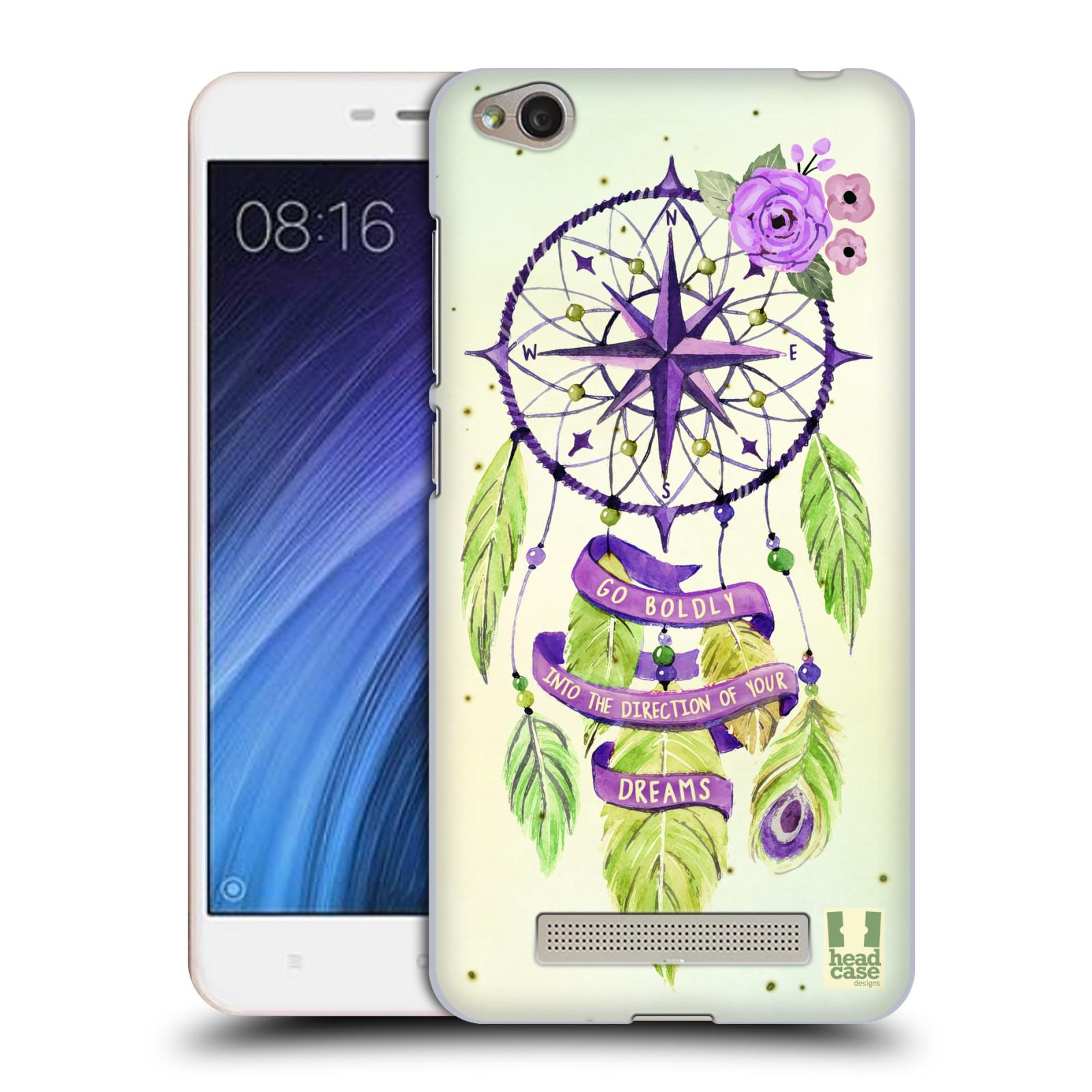 Plastové pouzdro na mobil Xiaomi Redmi 4A HEAD CASE Lapač Assorted Compass