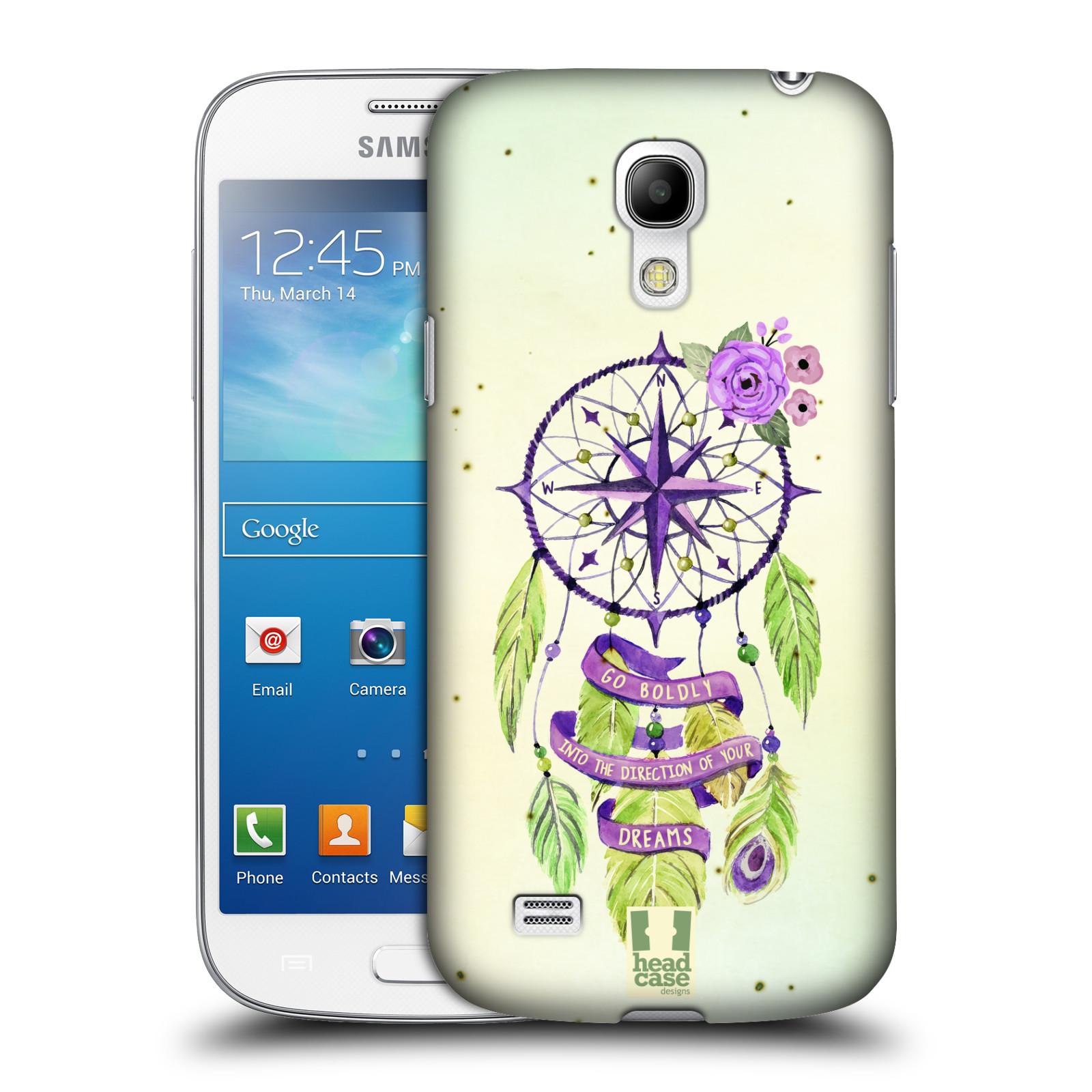 Plastové pouzdro na mobil Samsung Galaxy S4 Mini HEAD CASE Lapač Assorted Compass (Kryt či obal na mobilní telefon Samsung Galaxy S4 Mini GT-i9195 / i9190)