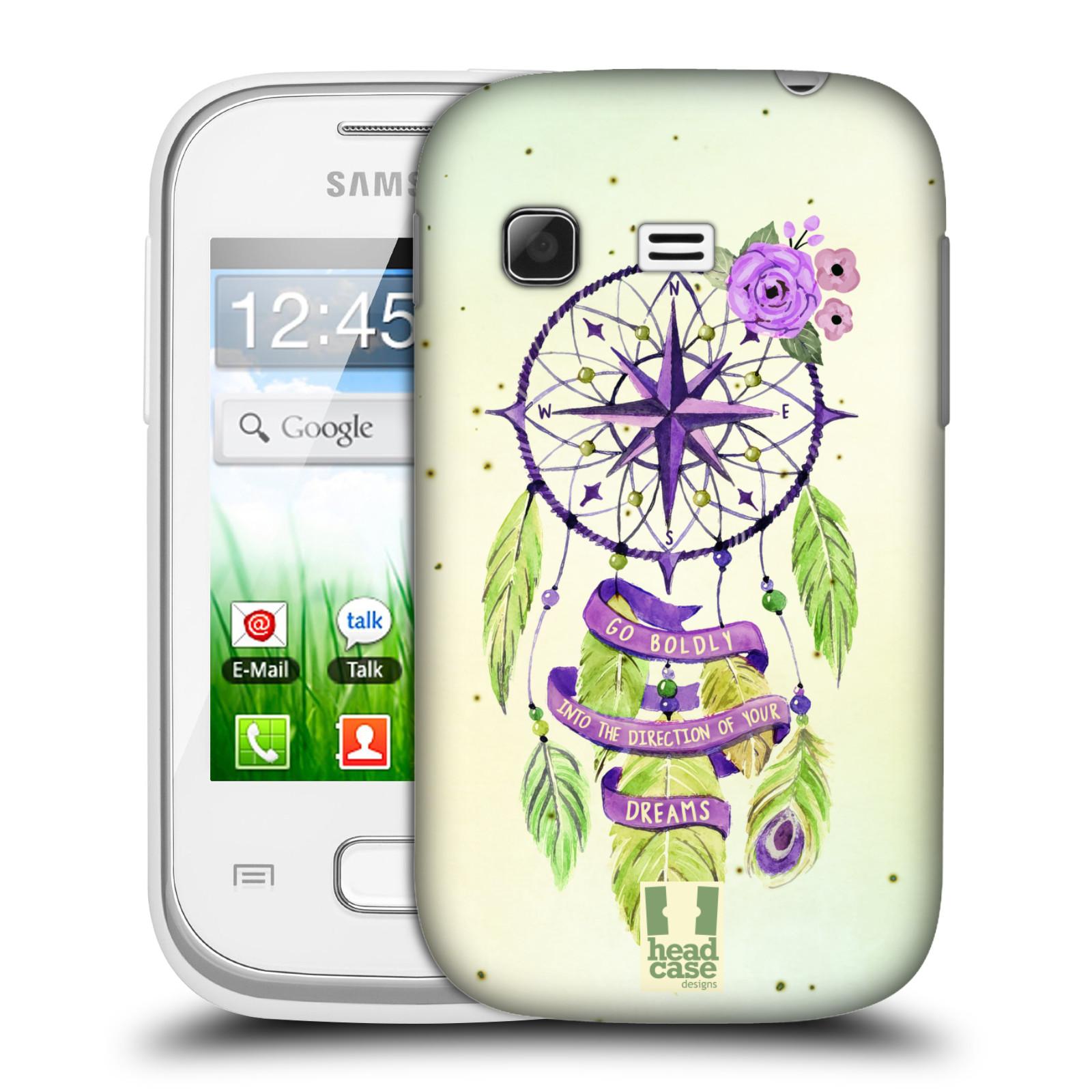 Plastové pouzdro na mobil Samsung Galaxy Pocket HEAD CASE Lapač Assorted Compass (Kryt či obal na mobilní telefon Samsung Galaxy Pocket GT-S5300)