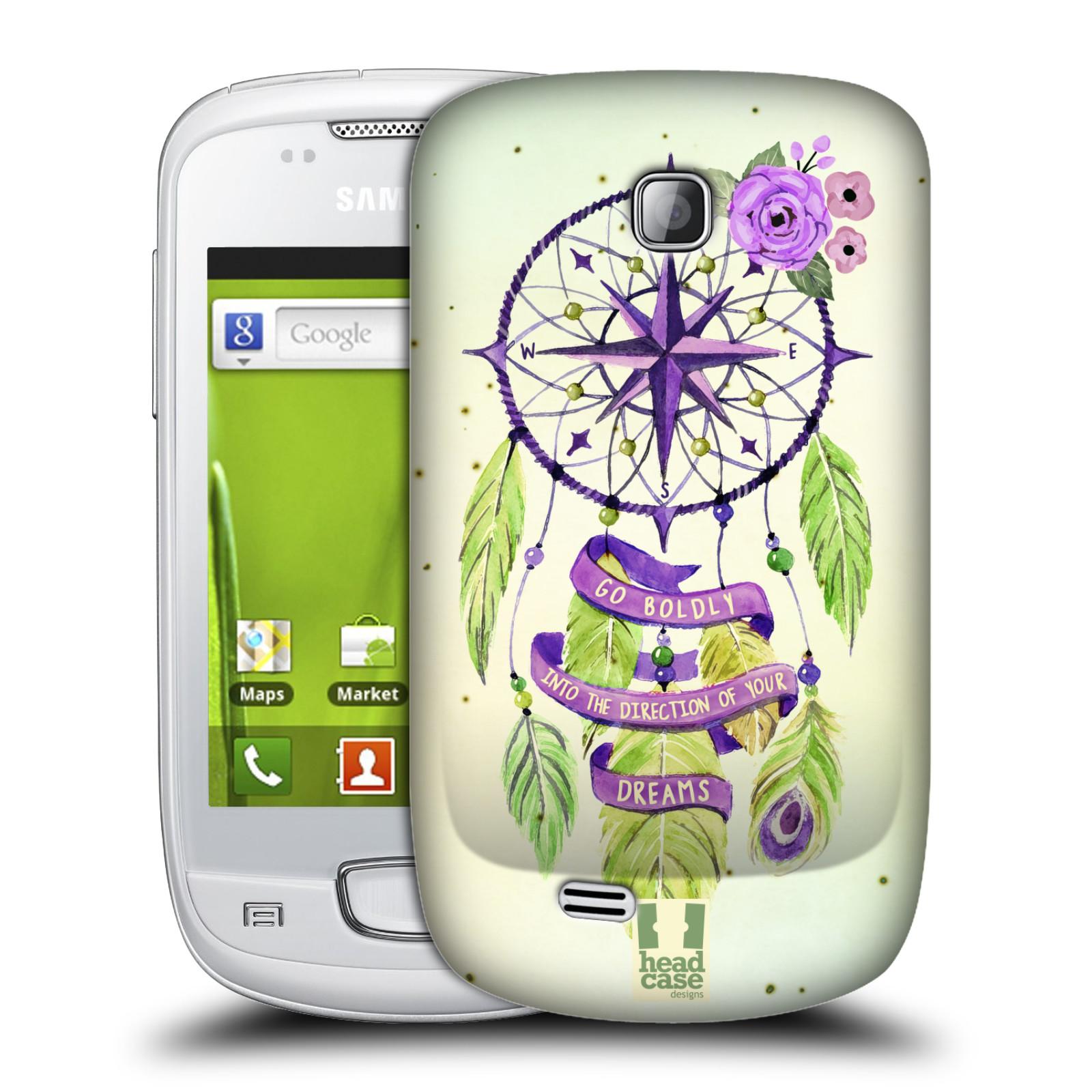 Plastové pouzdro na mobil Samsung Galaxy Mini HEAD CASE Lapač Assorted Compass (Kryt či obal na mobilní telefon Samsung Galaxy Mini GT-S5570 / GT-S5570i)