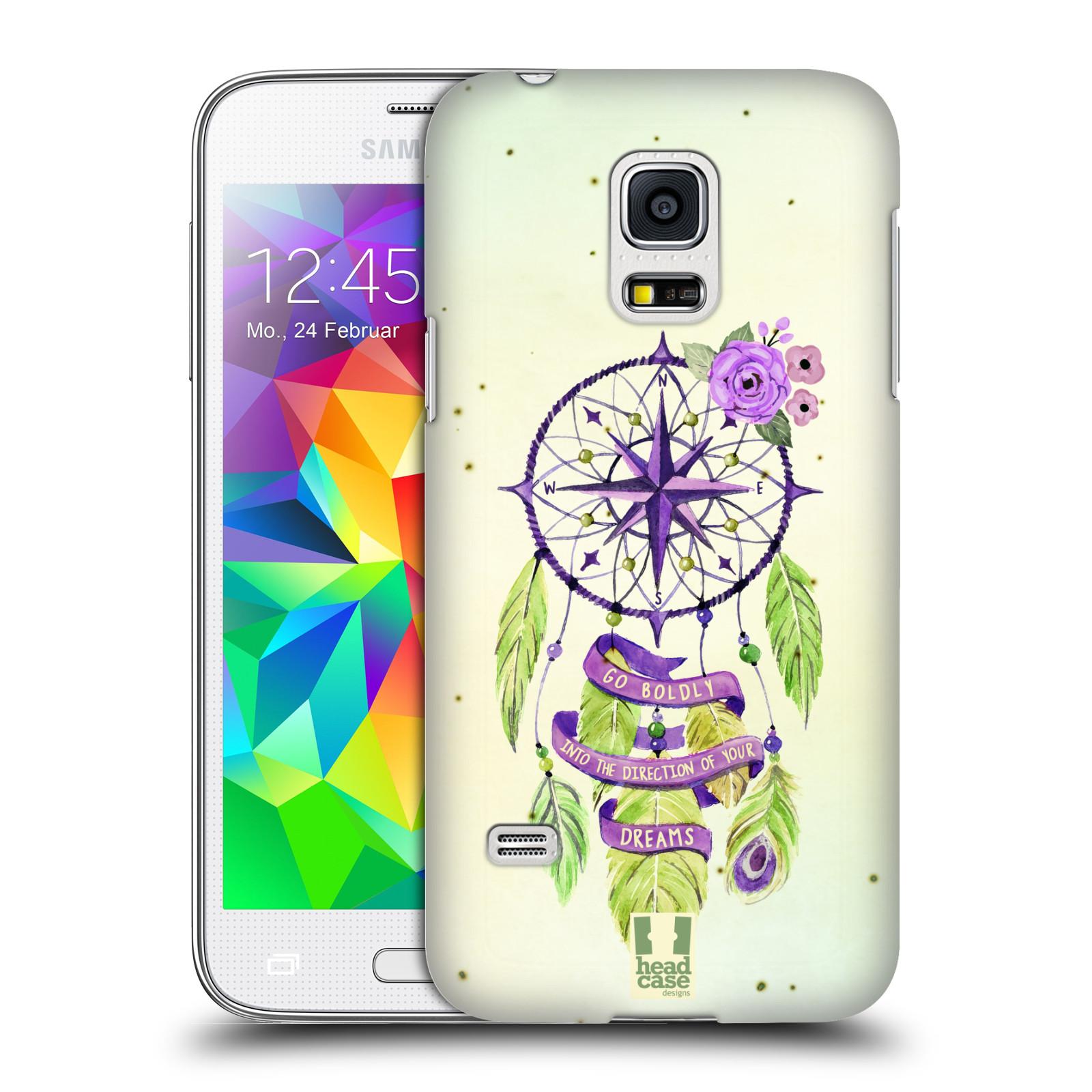 Plastové pouzdro na mobil Samsung Galaxy S5 Mini HEAD CASE Lapač Assorted Compass