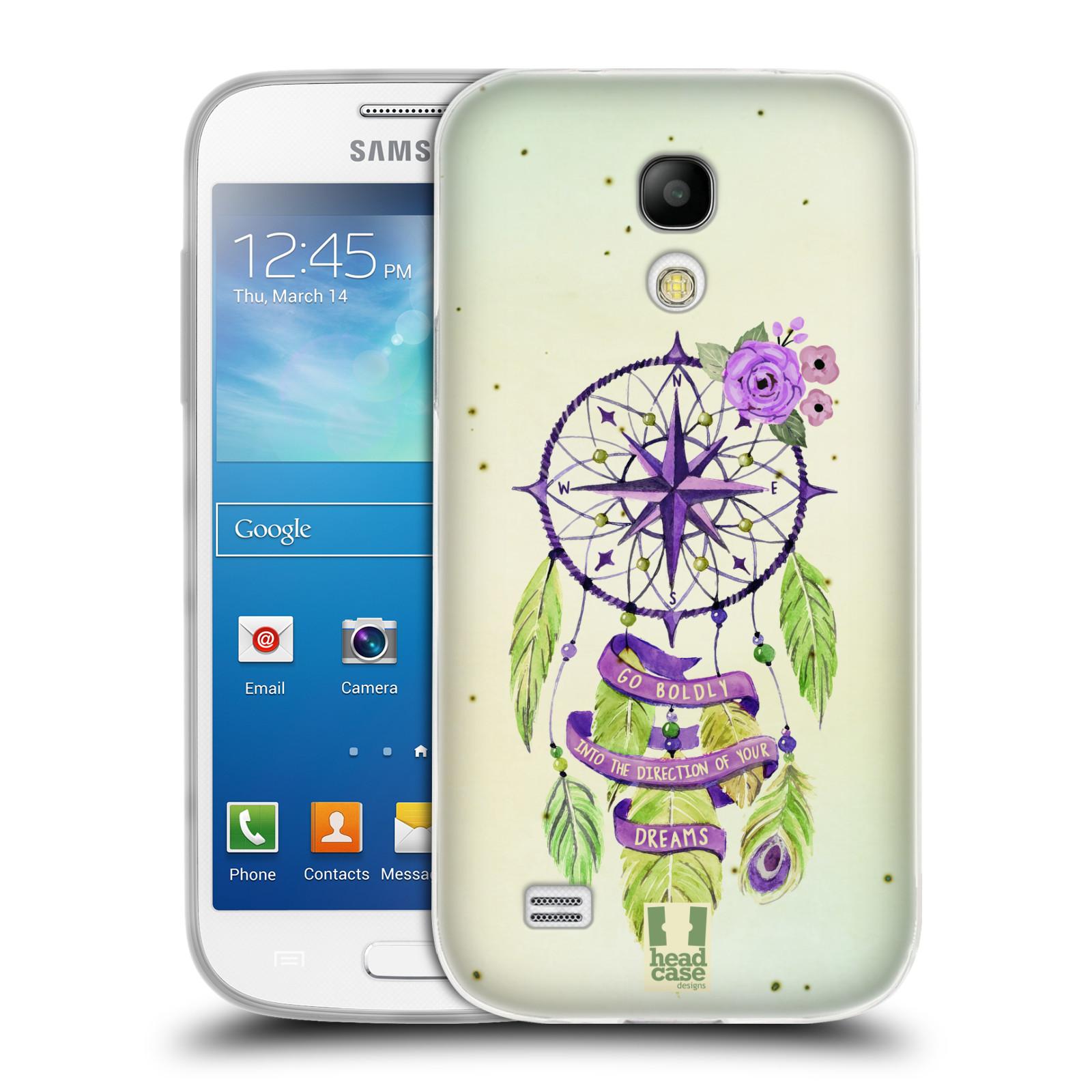 Silikonové pouzdro na mobil Samsung Galaxy S4 Mini HEAD CASE Lapač Assorted Compass (Silikonový kryt či obal na mobilní telefon Samsung Galaxy S4 Mini GT-i9195 / i9190)